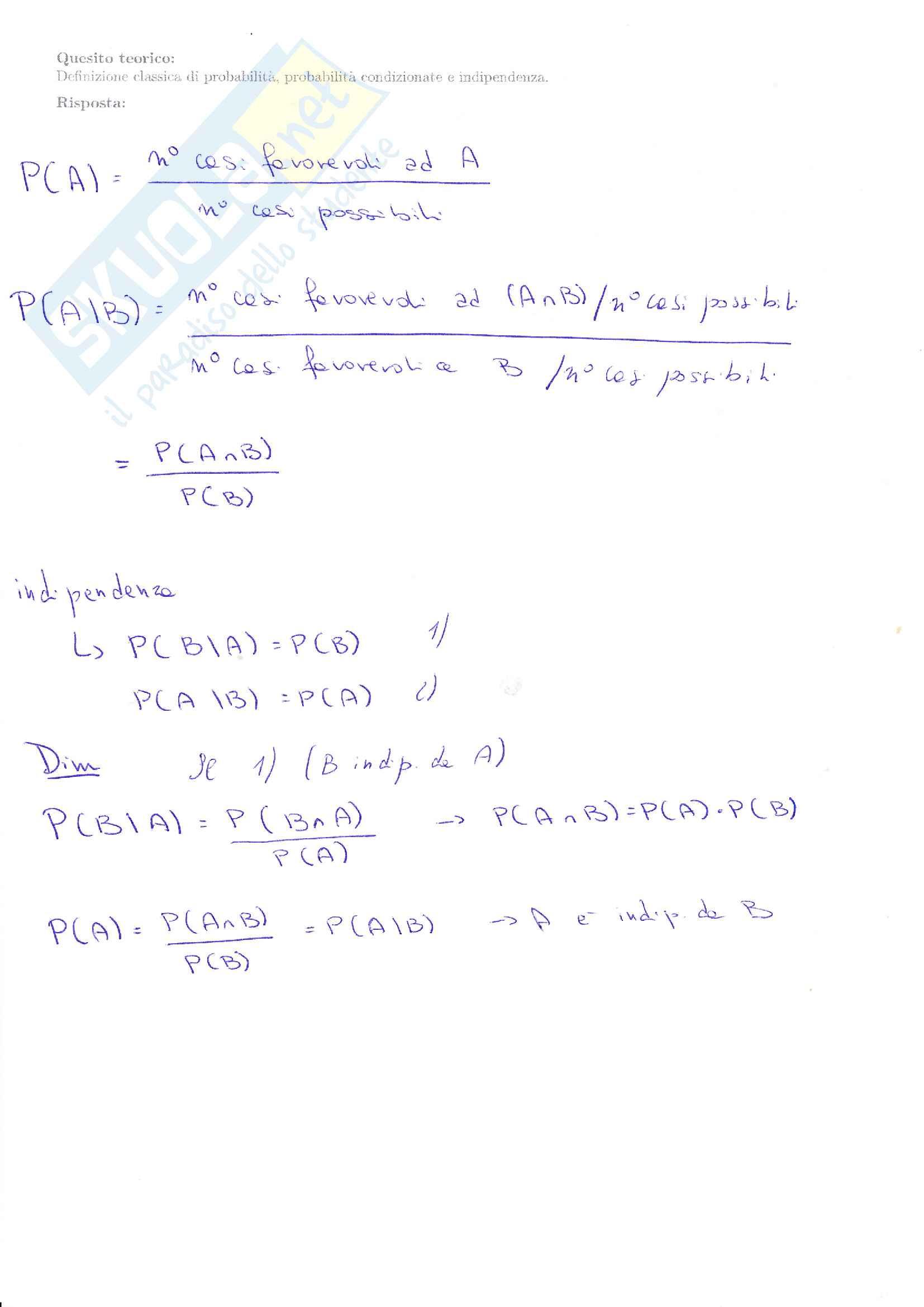 Esami svolti statistica 1 Pag. 21