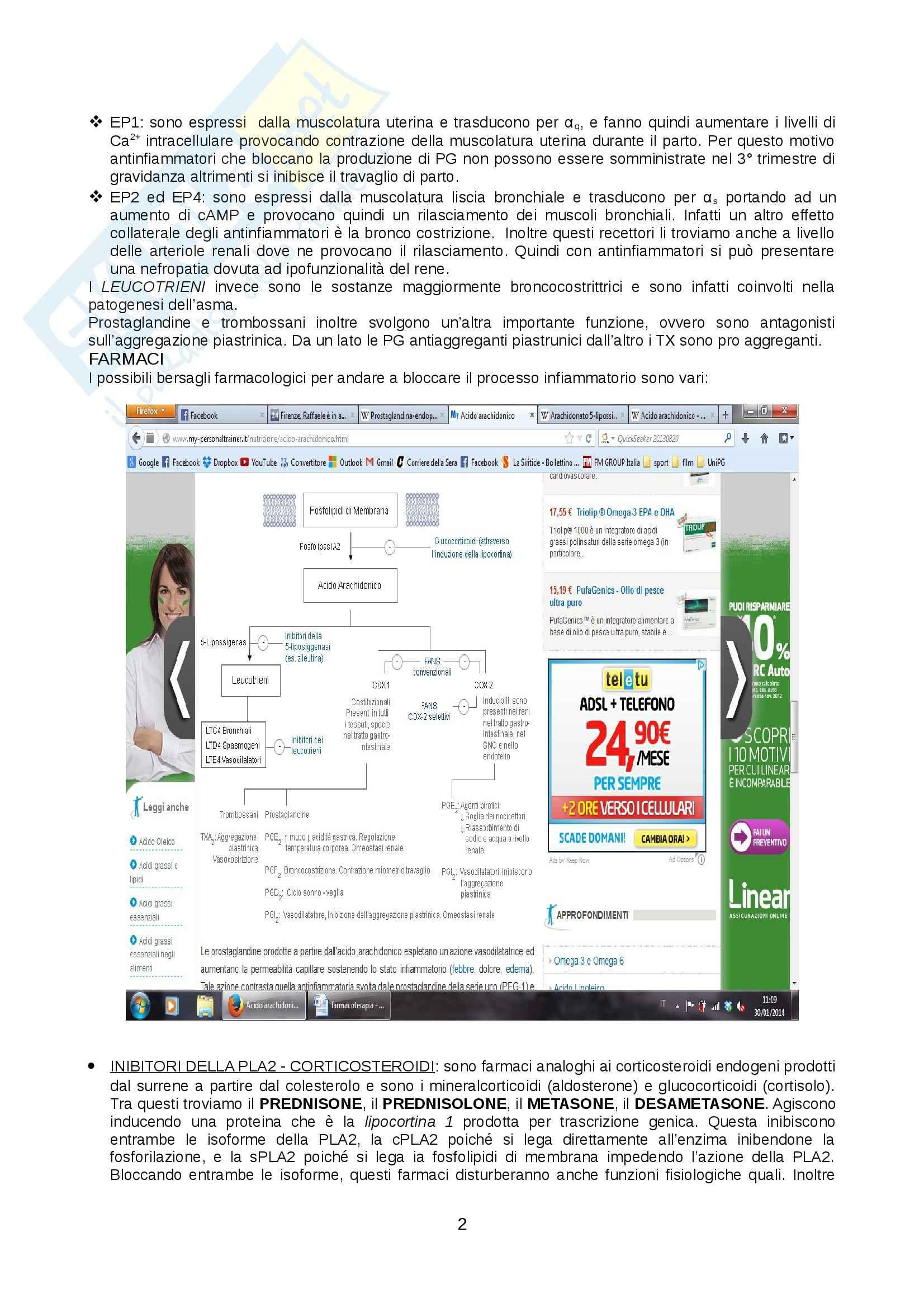 Lezioni, Farmacologia Pag. 2