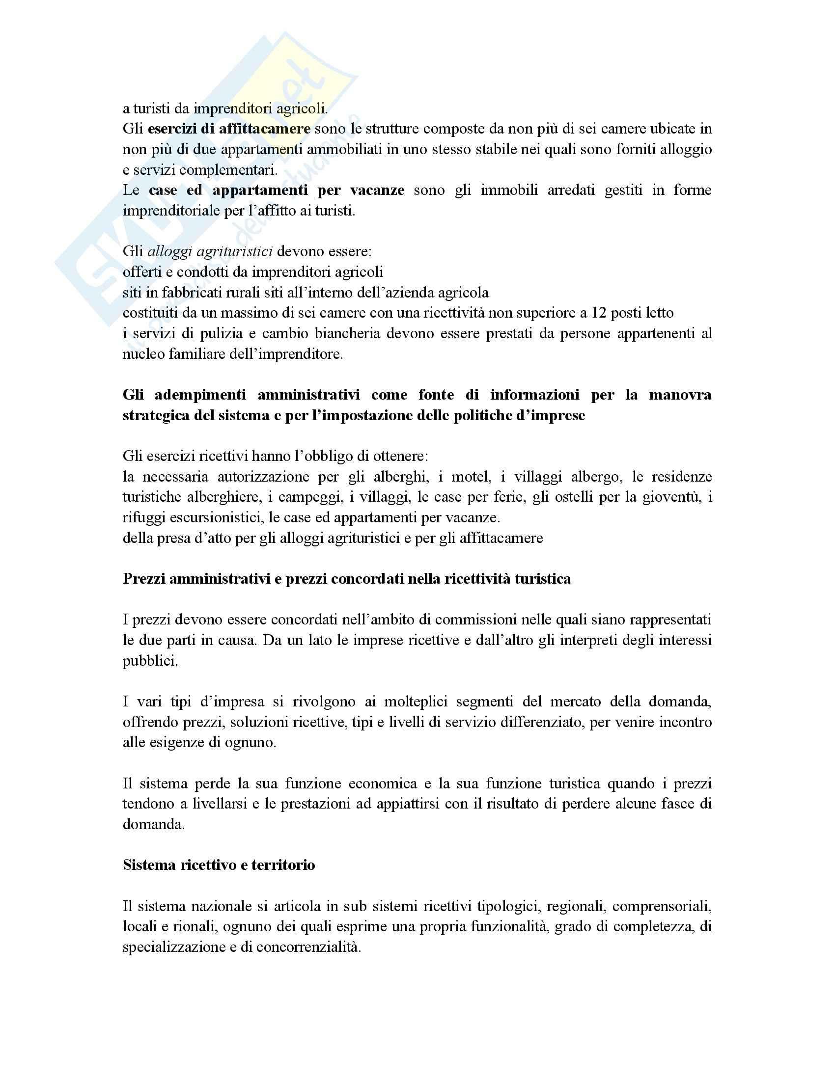 Riassunto esame Economia, prof. Gigli, libro consigliato Economia e management delle imprese alberghiere, Peroni Pag. 16