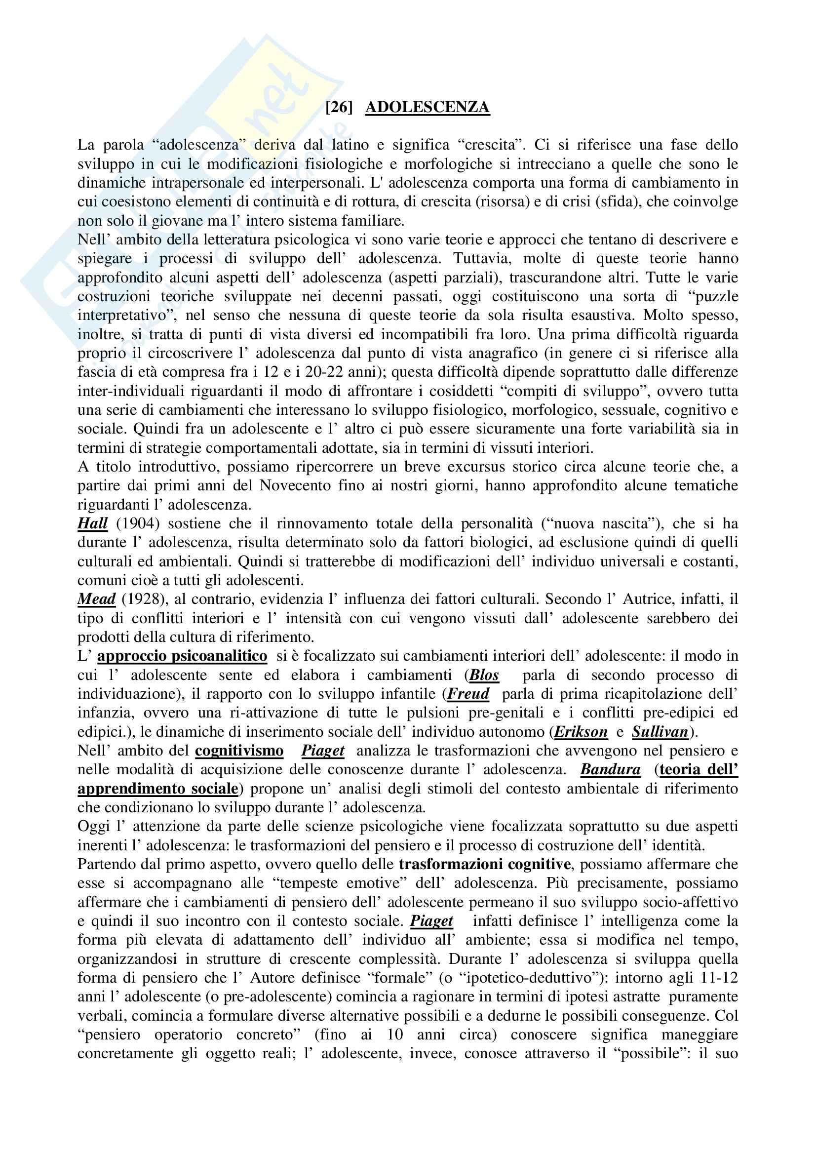 TEMI SVOLTI ESAME DI STATO PSICOLOGO PRIMA PARTE