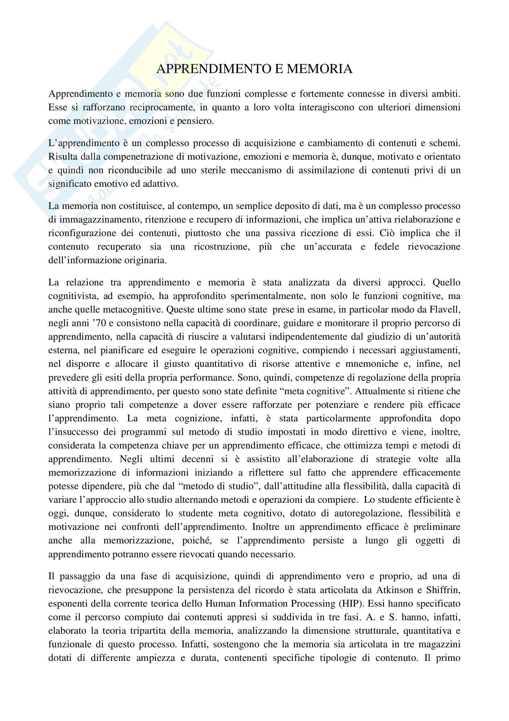TEMI SVOLTI ESAME DI STATO PSICOLOGO PRIMA PARTE Pag. 11