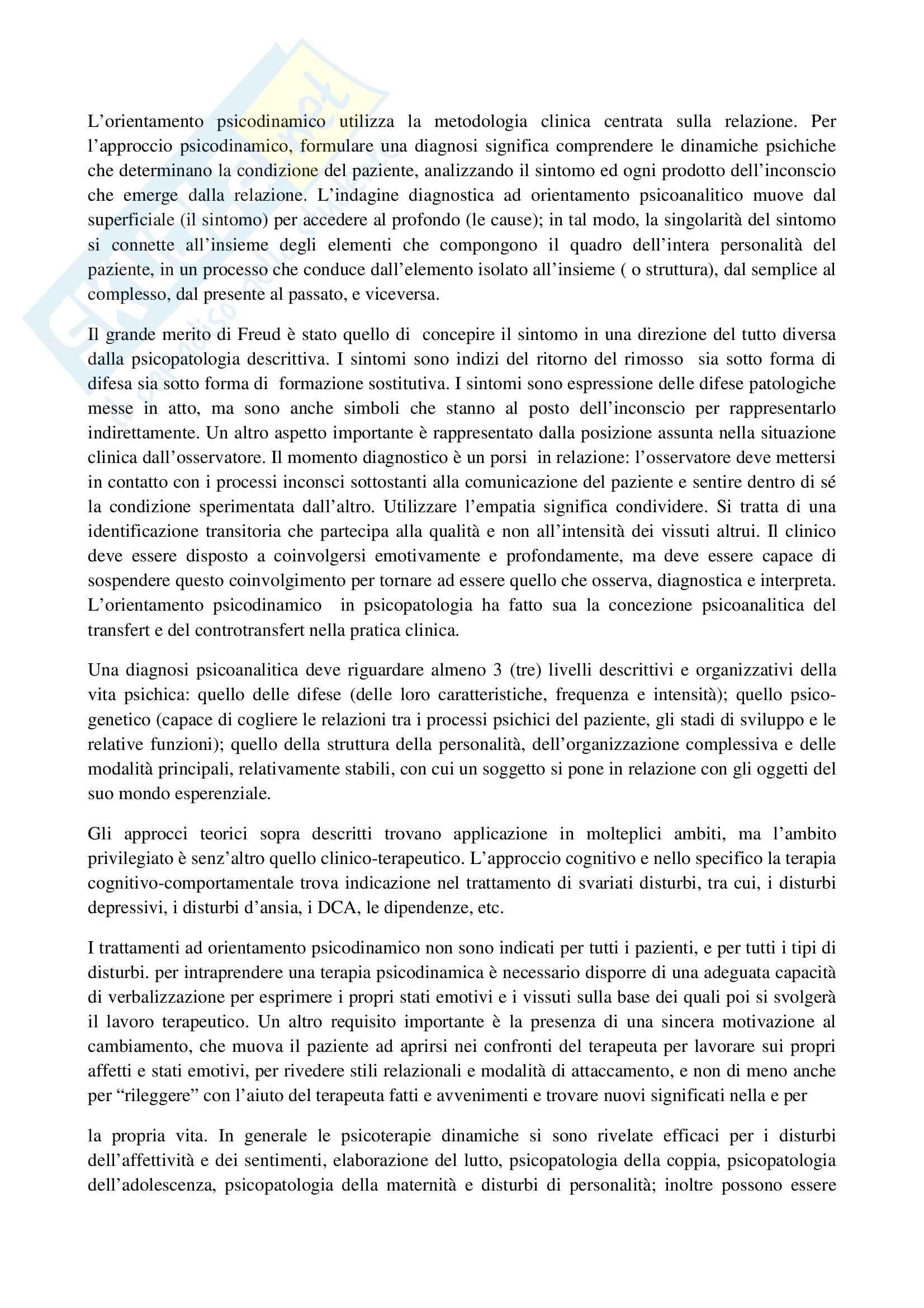 TEMI SVOLTI ESAME DI STATO PSICOLOGO PRIMA PARTE Pag. 16
