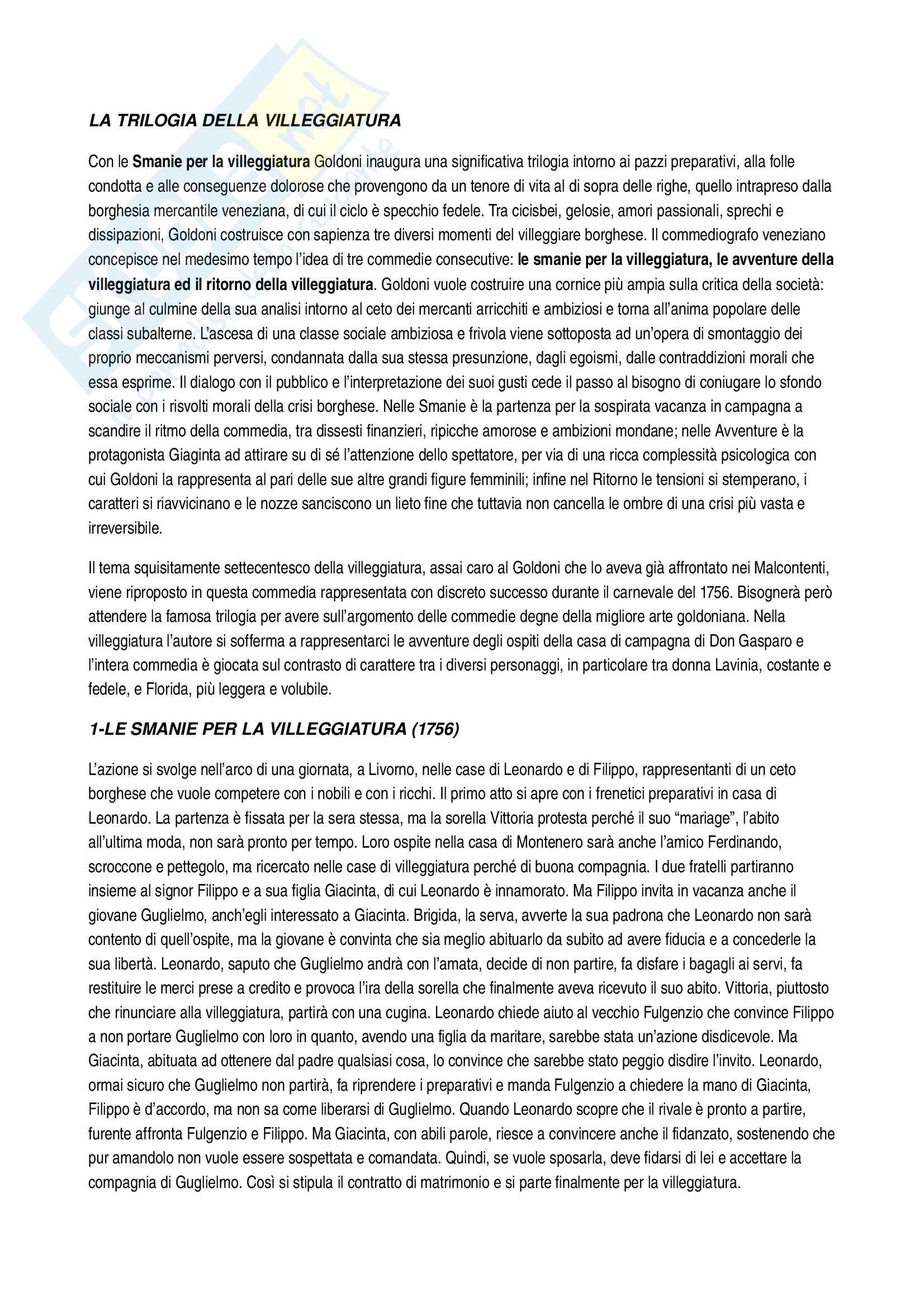 Carlo Goldoni Pag. 6