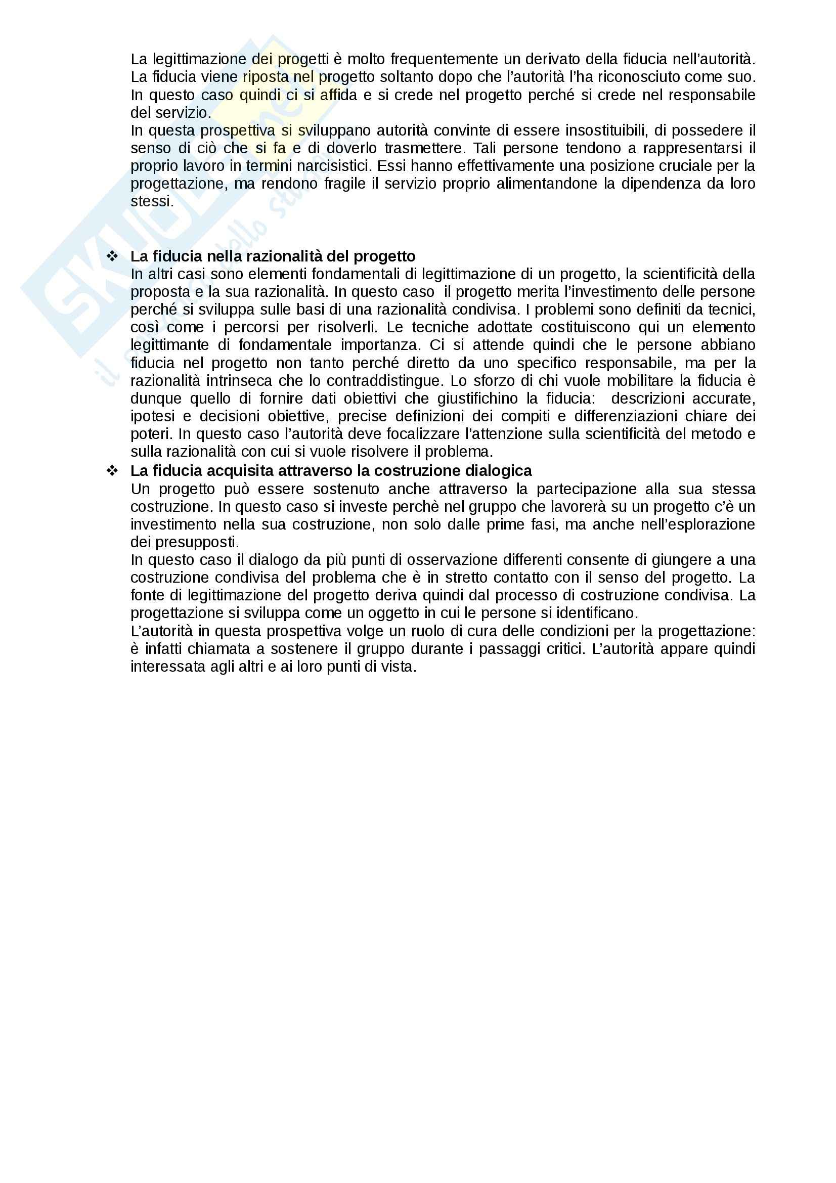 """Riassunto esame Psicologia degli interventi nelle comunità, prof Elena Marta, libro consigliato """"La Progettazione Sociale"""" di F. D'Angela e A. Orsenigo Pag. 26"""