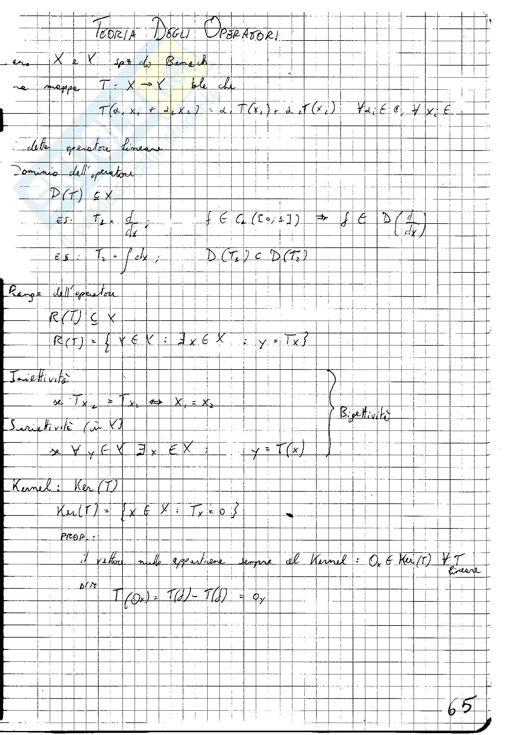 Fisica Matematica Pag. 66