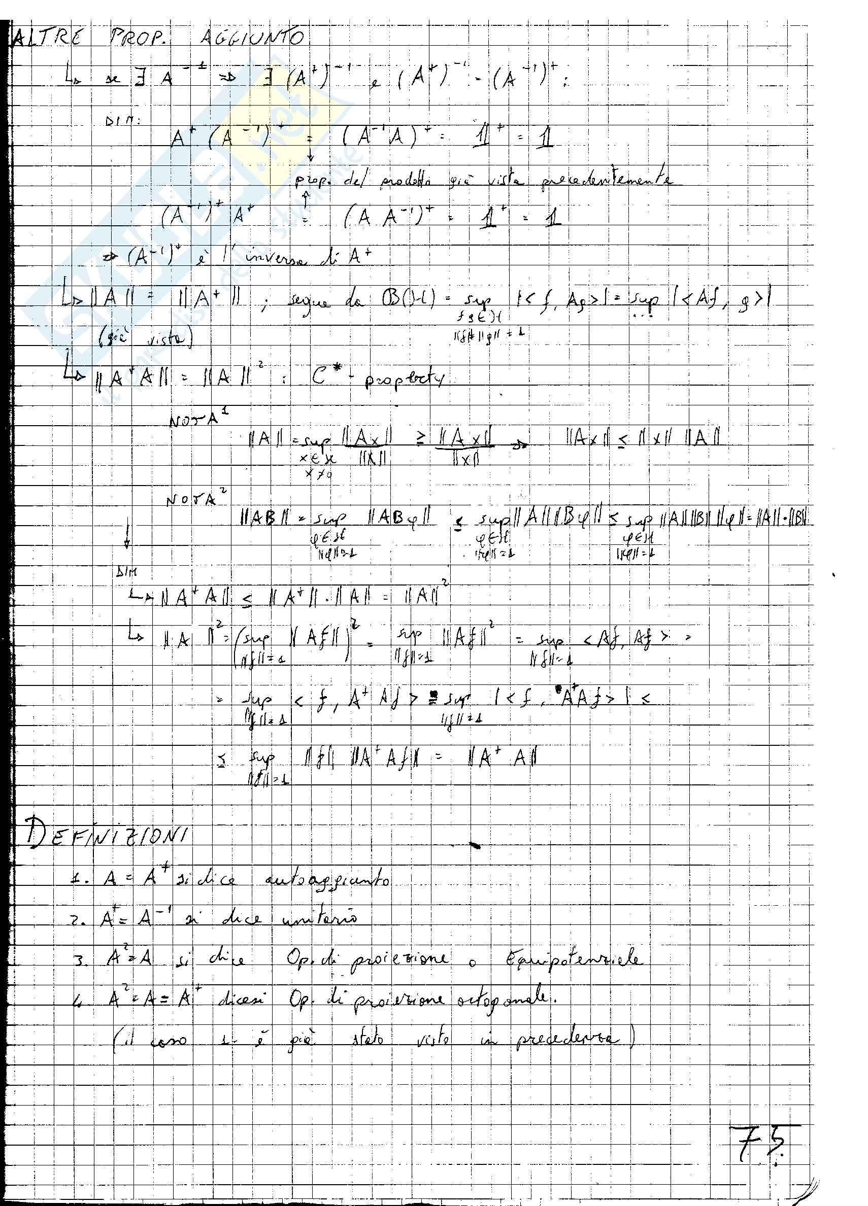 Fisica Matematica Pag. 76