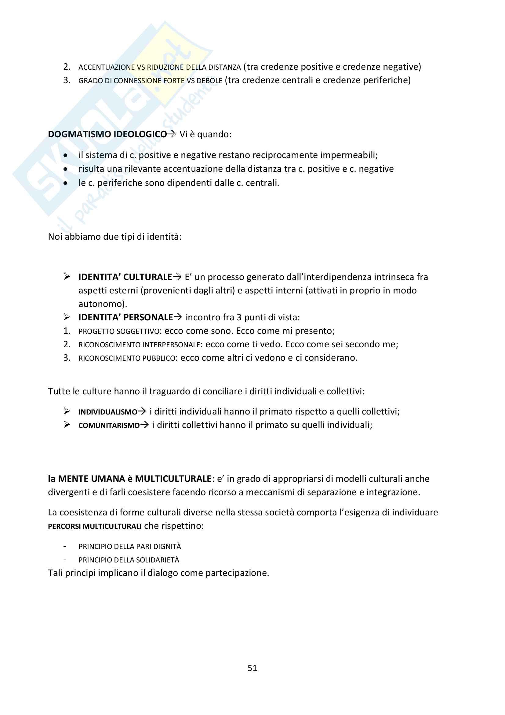 """Riassunto esame Psicologia Generale, docente Federici, libro consigliato """"Psicologia Generale"""" di L. Anolli e P. Legrenzi Pag. 51"""
