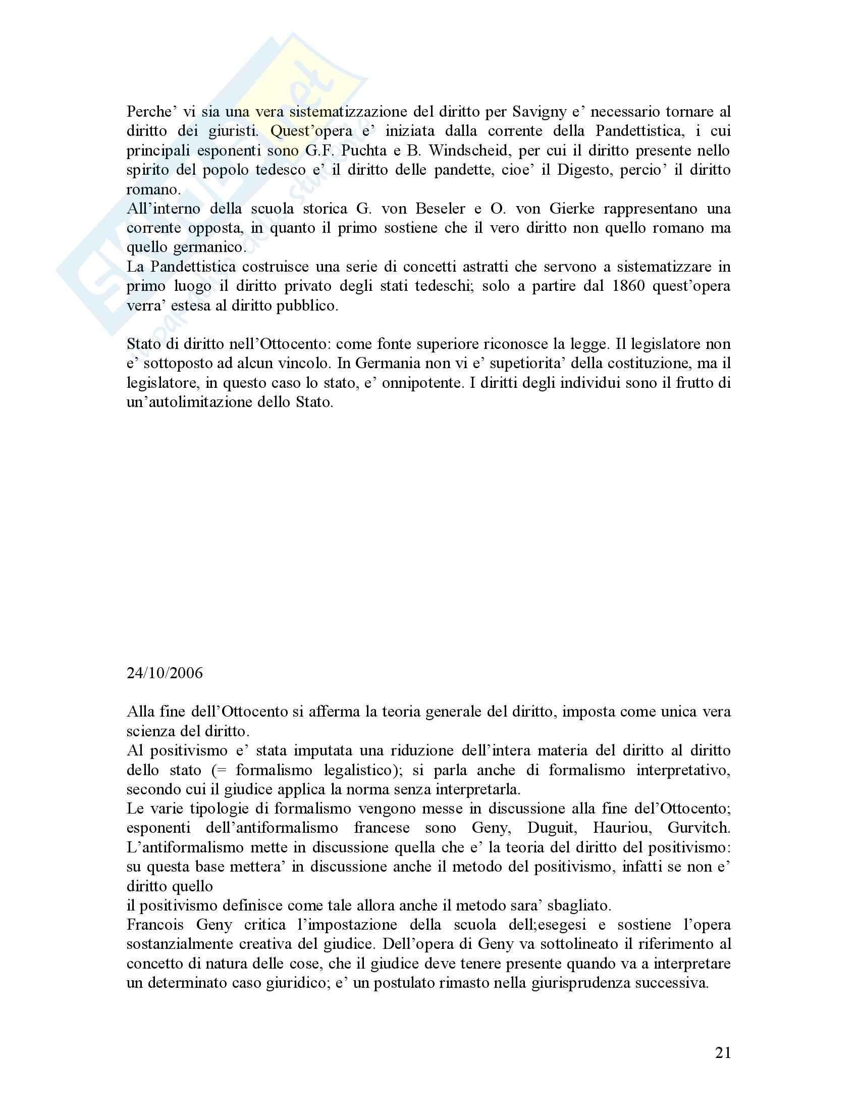 Filosofia del diritto - Riassunto esame, prof. Bongiovanni Pag. 21
