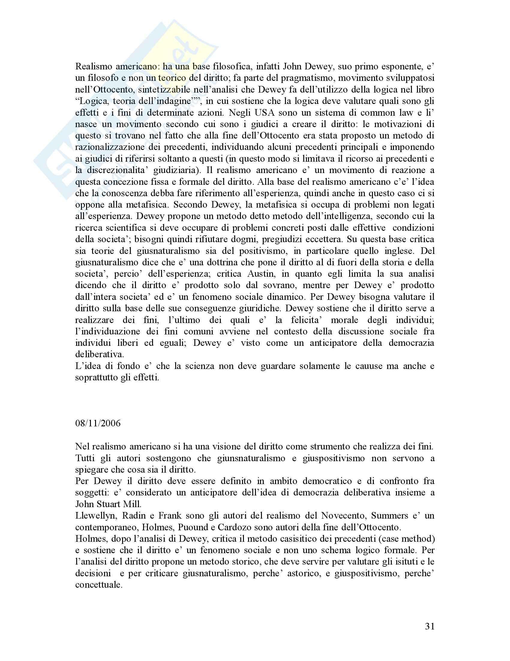 Filosofia del diritto - Riassunto esame, prof. Bongiovanni Pag. 31