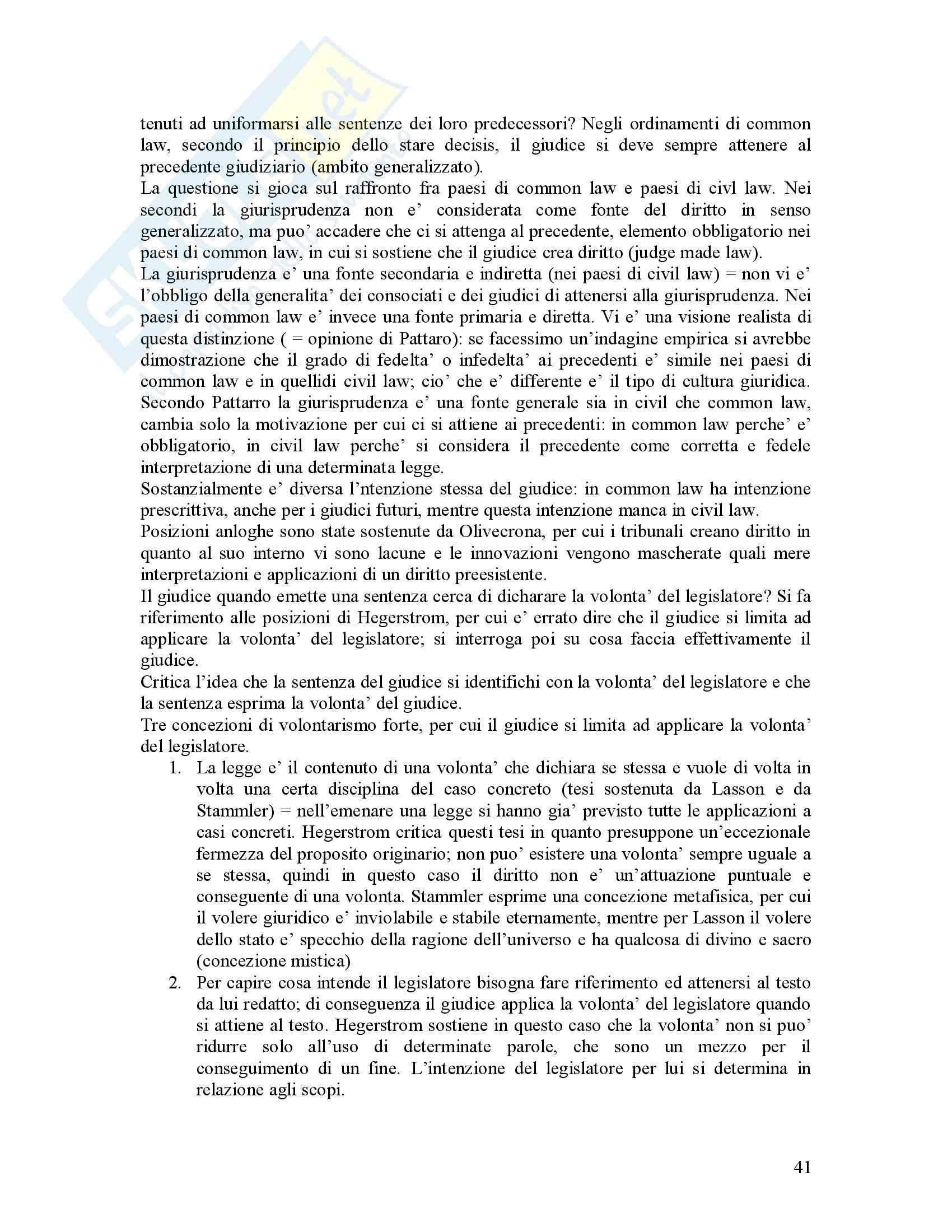 Filosofia del diritto - Riassunto esame, prof. Bongiovanni Pag. 41