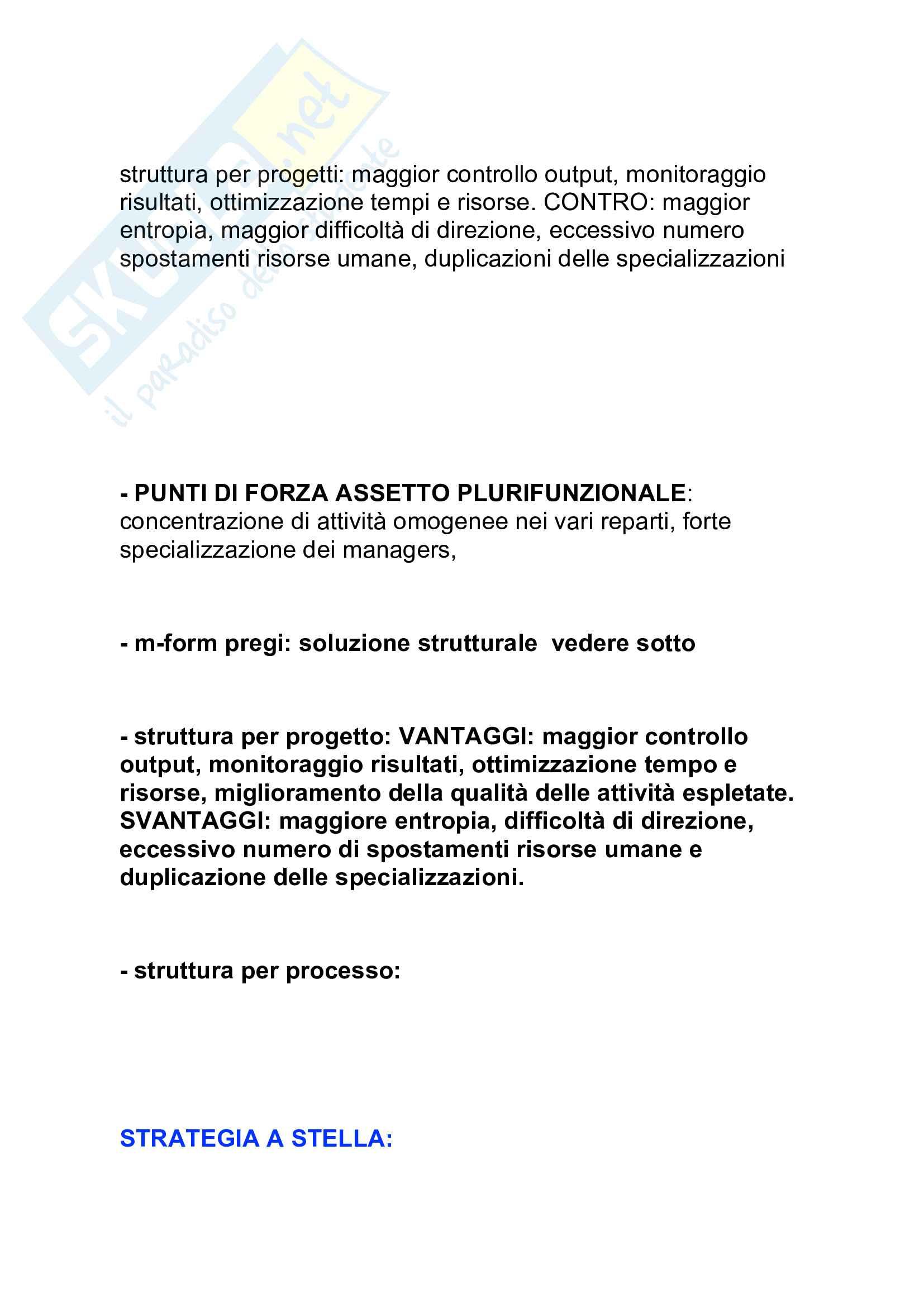 Tutte le Domande dell'esame di management, Barile Sancetta Pag. 11