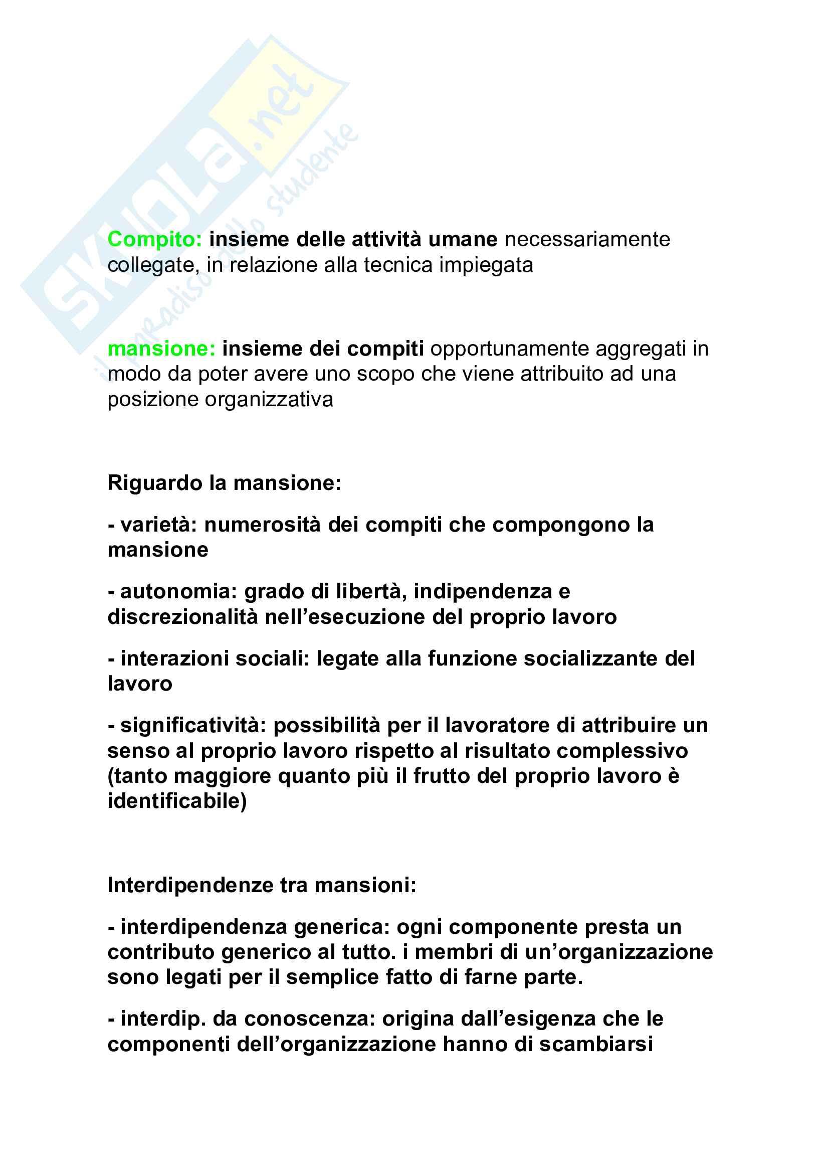 Tutte le Domande dell'esame di management, Barile Sancetta Pag. 16