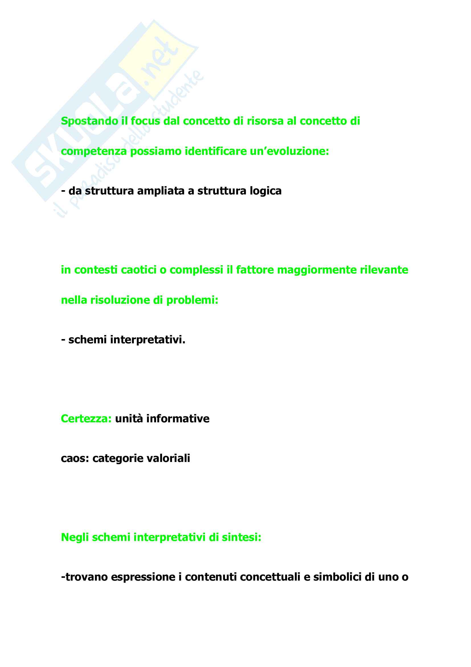 Tutte le Domande dell'esame di management, Barile Sancetta Pag. 41