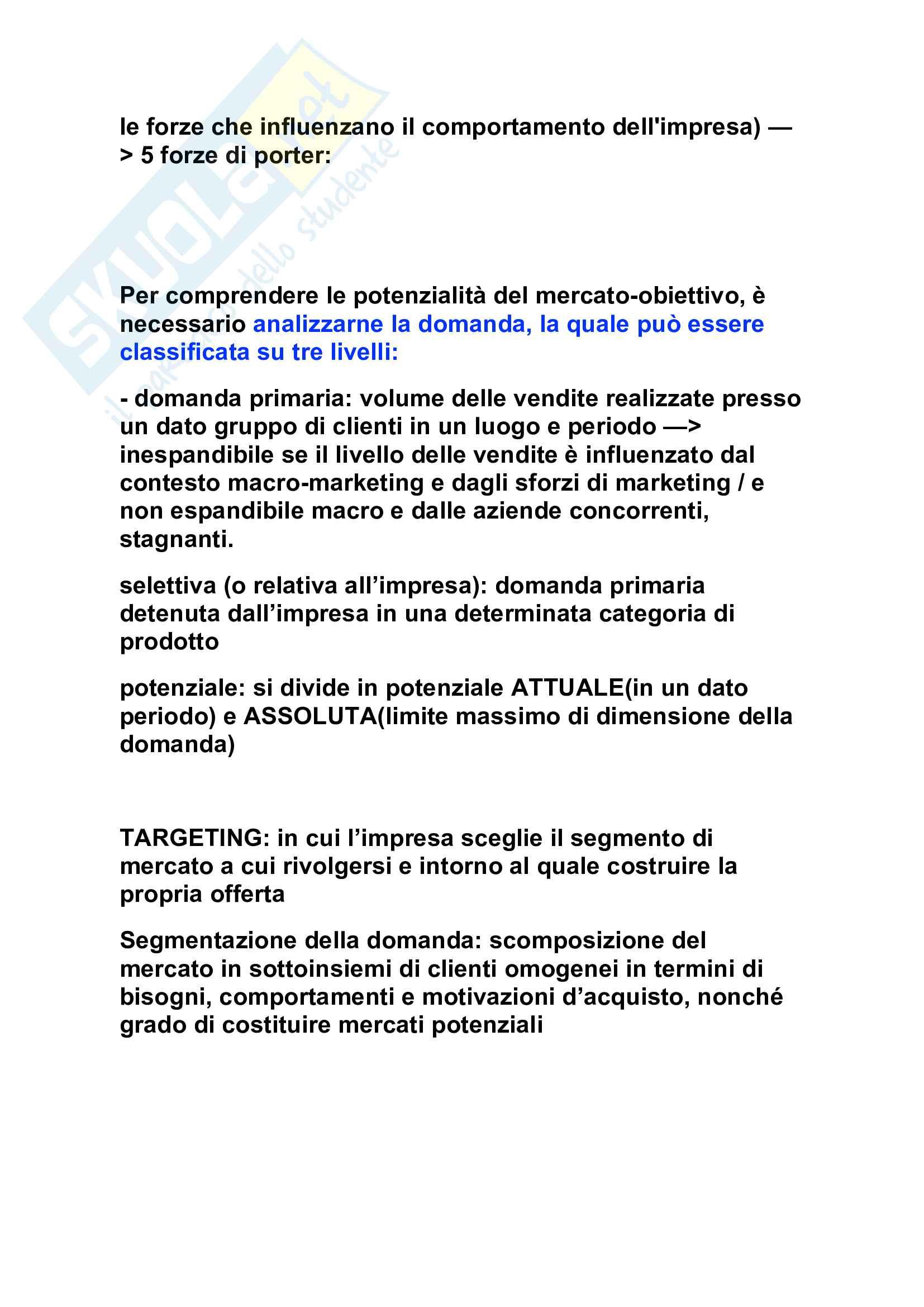 Tutte le Domande dell'esame di management, Barile Sancetta Pag. 6