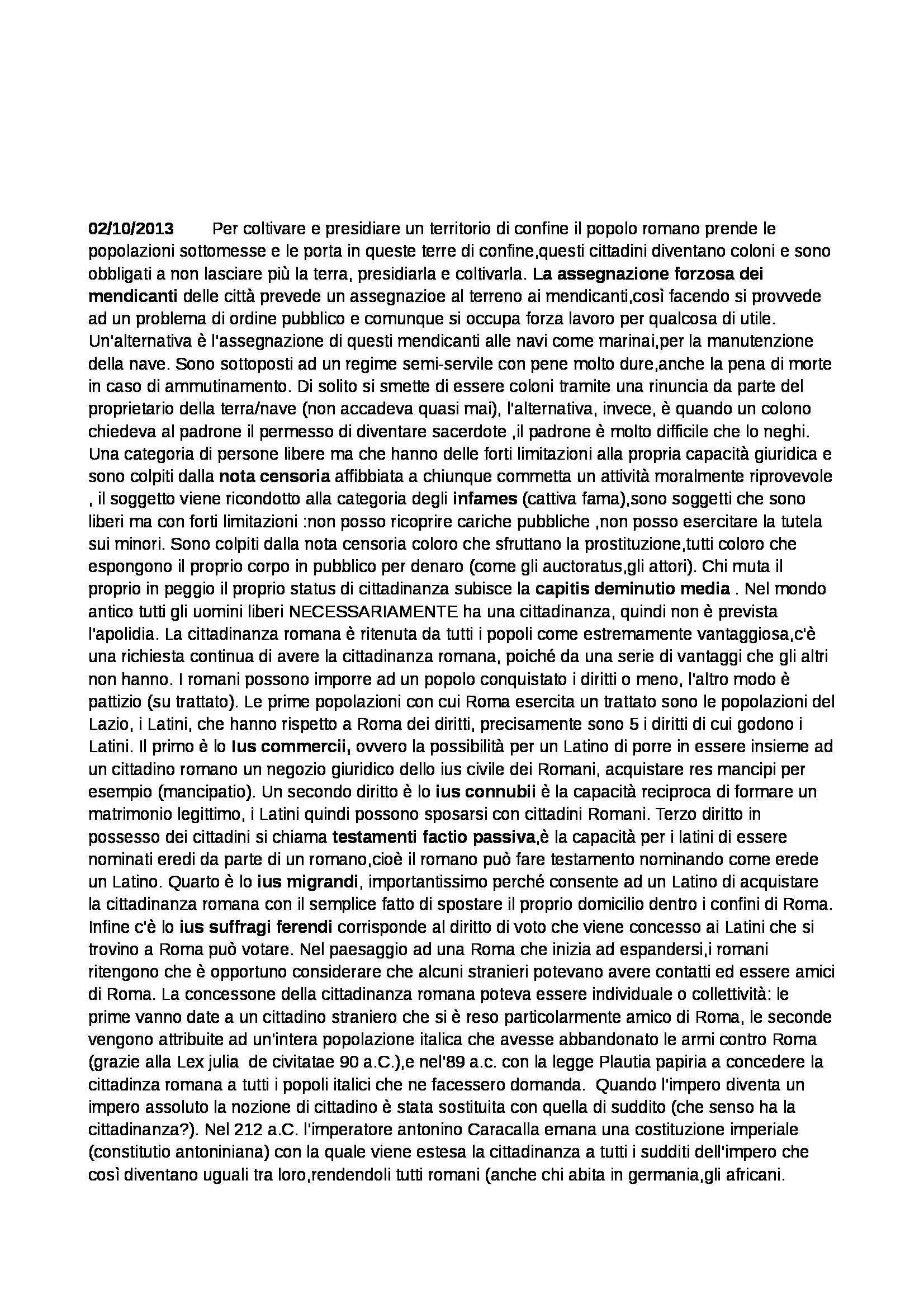 Diritto romano - Appunti Pag. 6