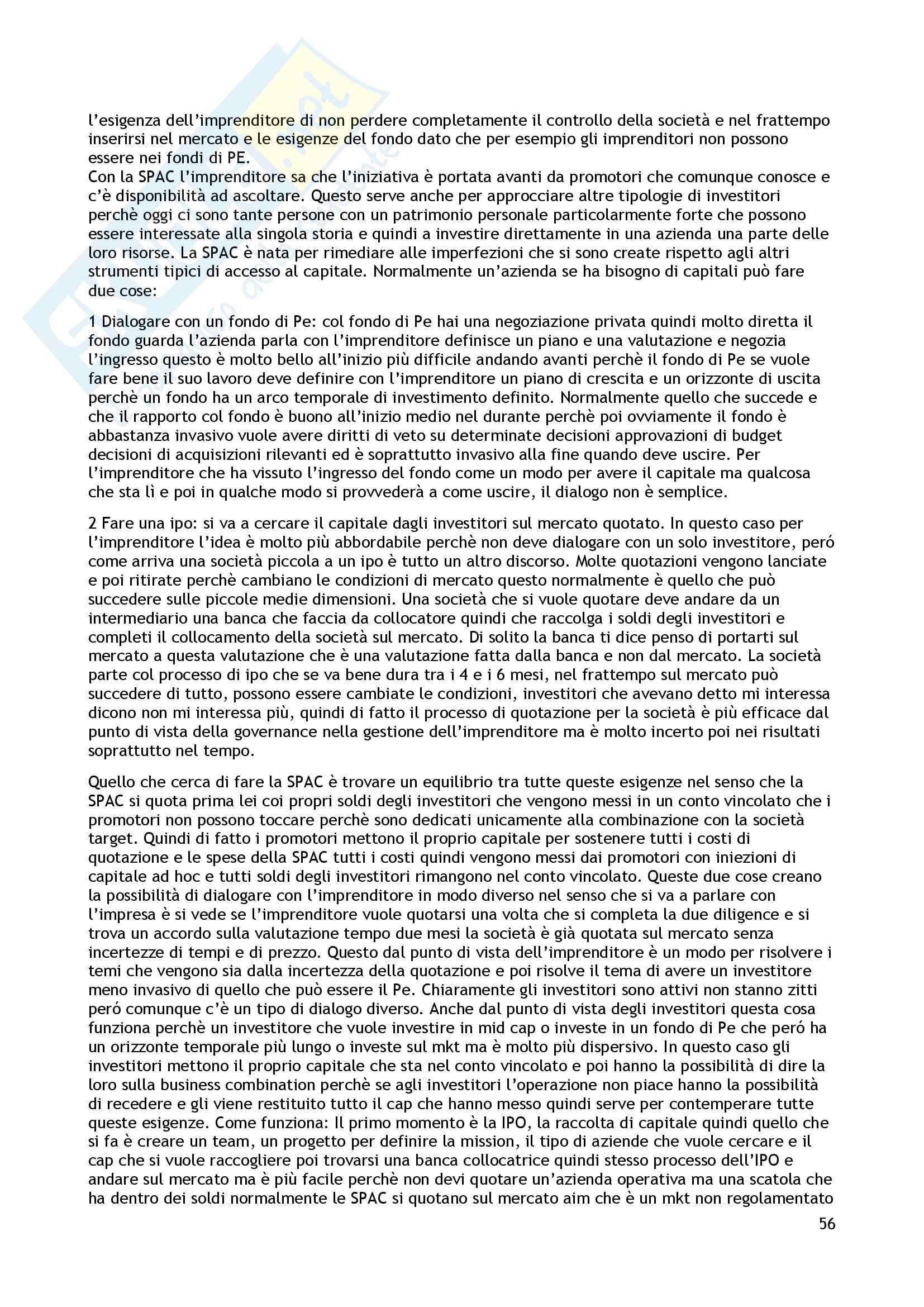 Appunti diritto dei mercati e degli intermediari Pag. 56