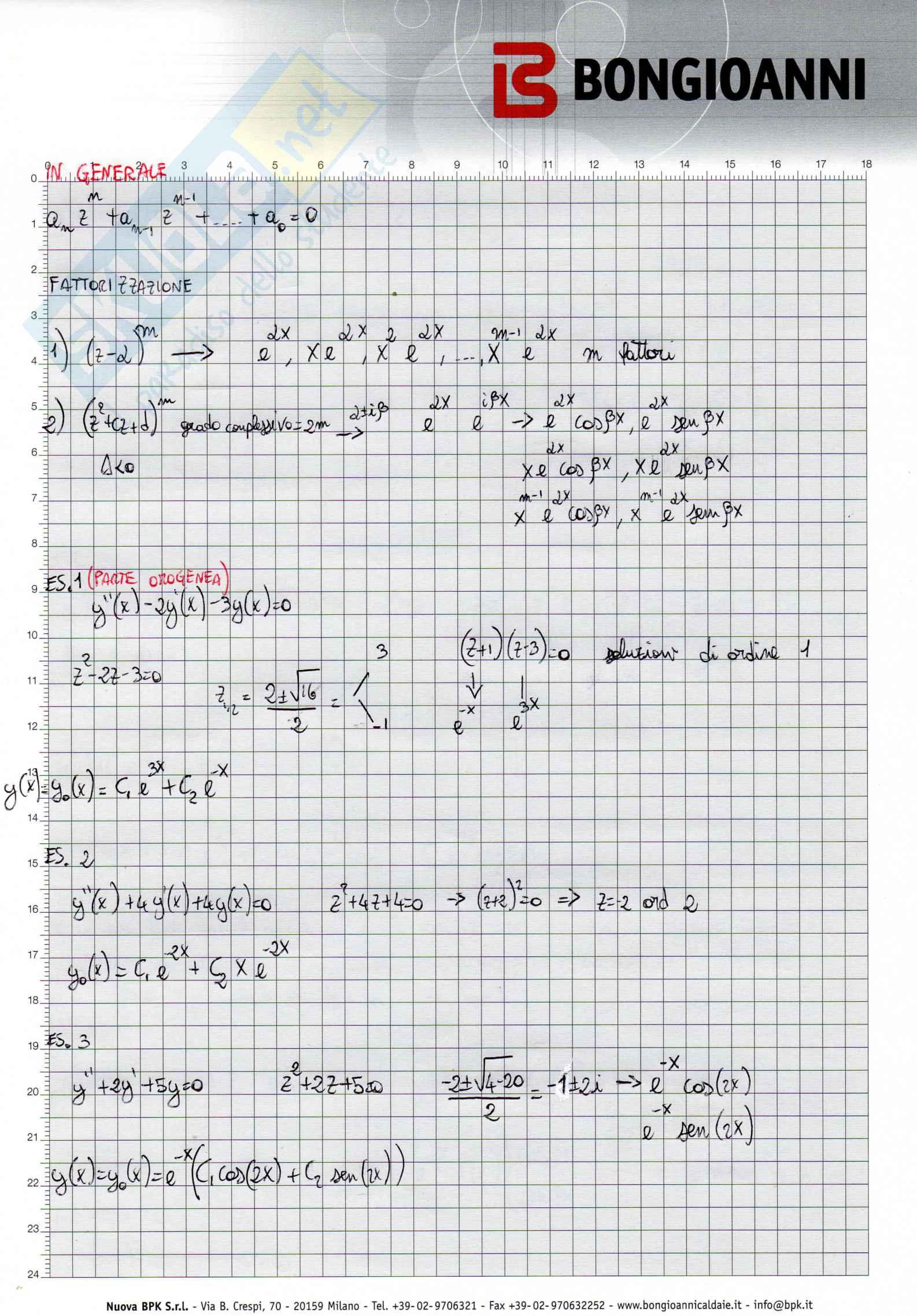 Equazioni Differenziali Pag. 6
