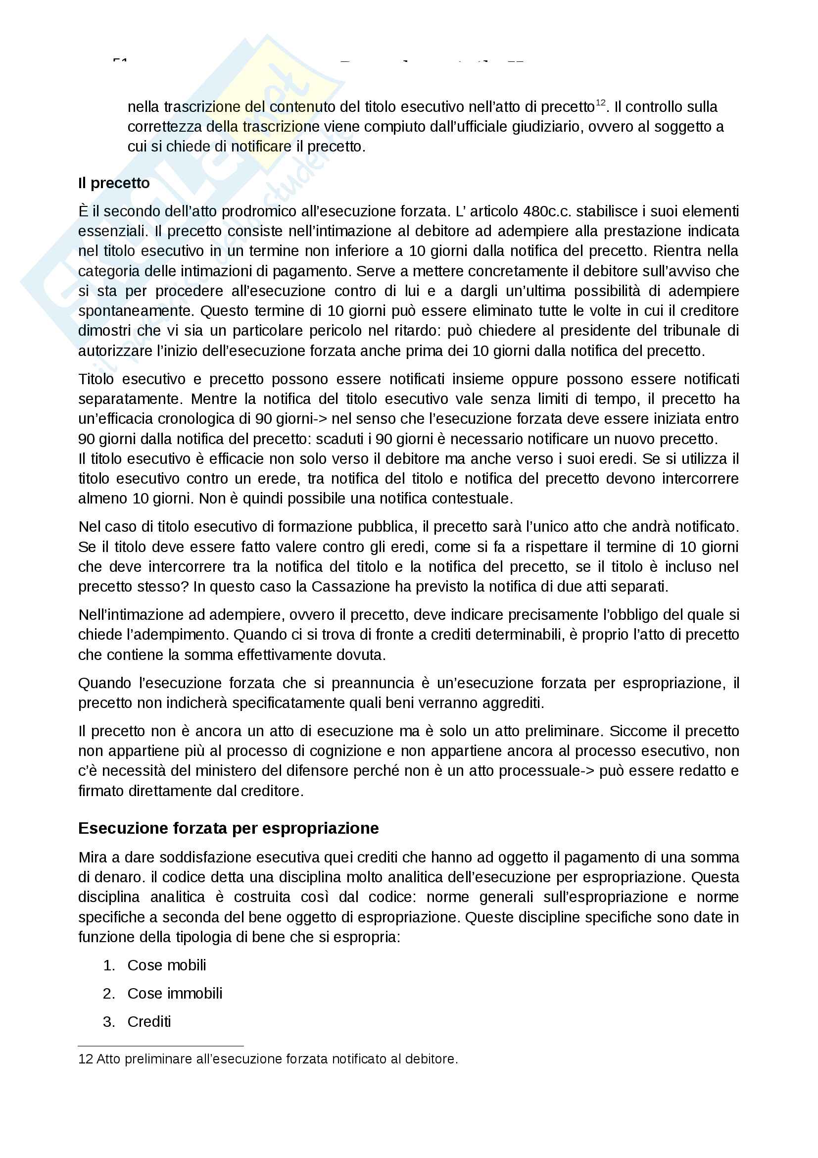 Procedura civile II Pag. 51
