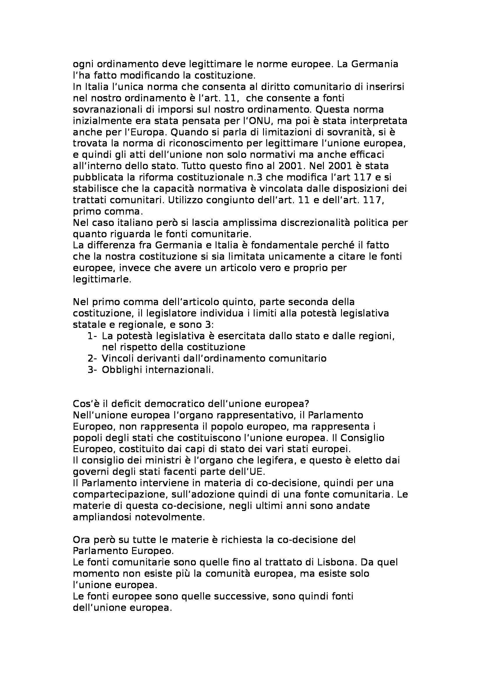 Diritto costituzionale - Appunti Pag. 2