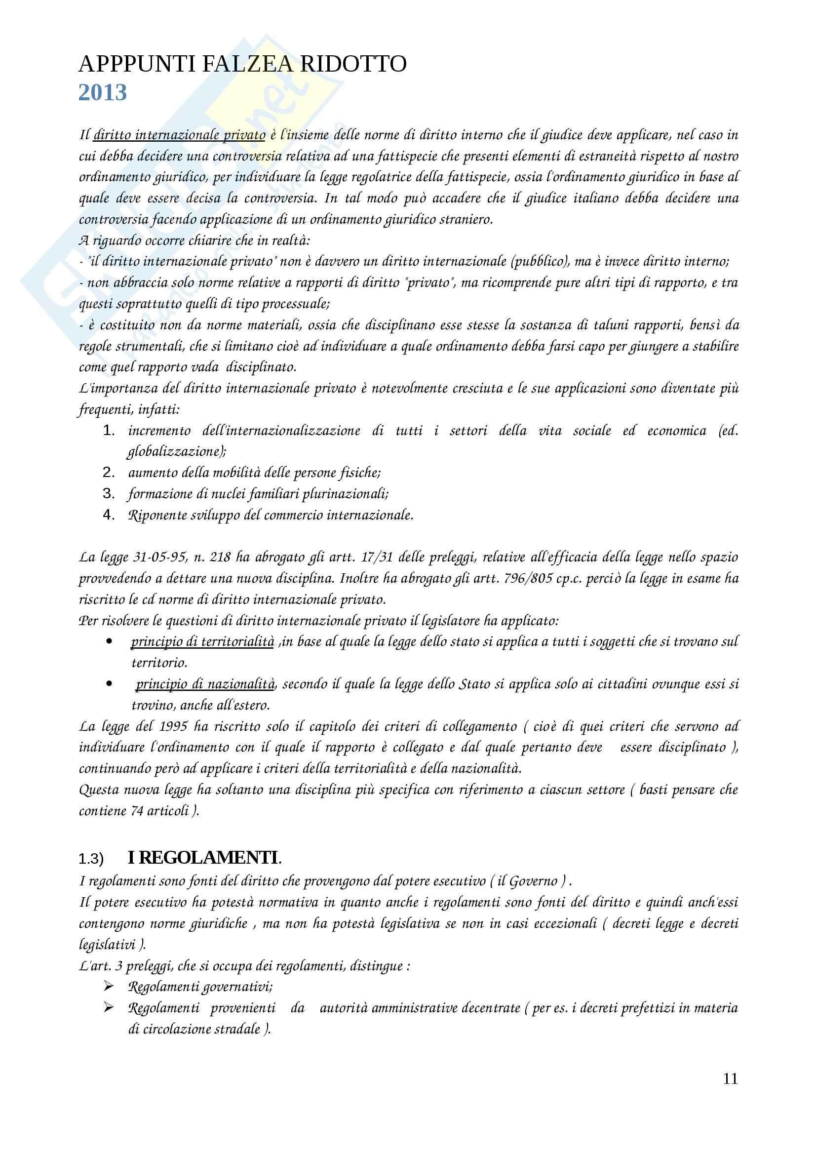 Lezioni, Diritto privato I Pag. 11