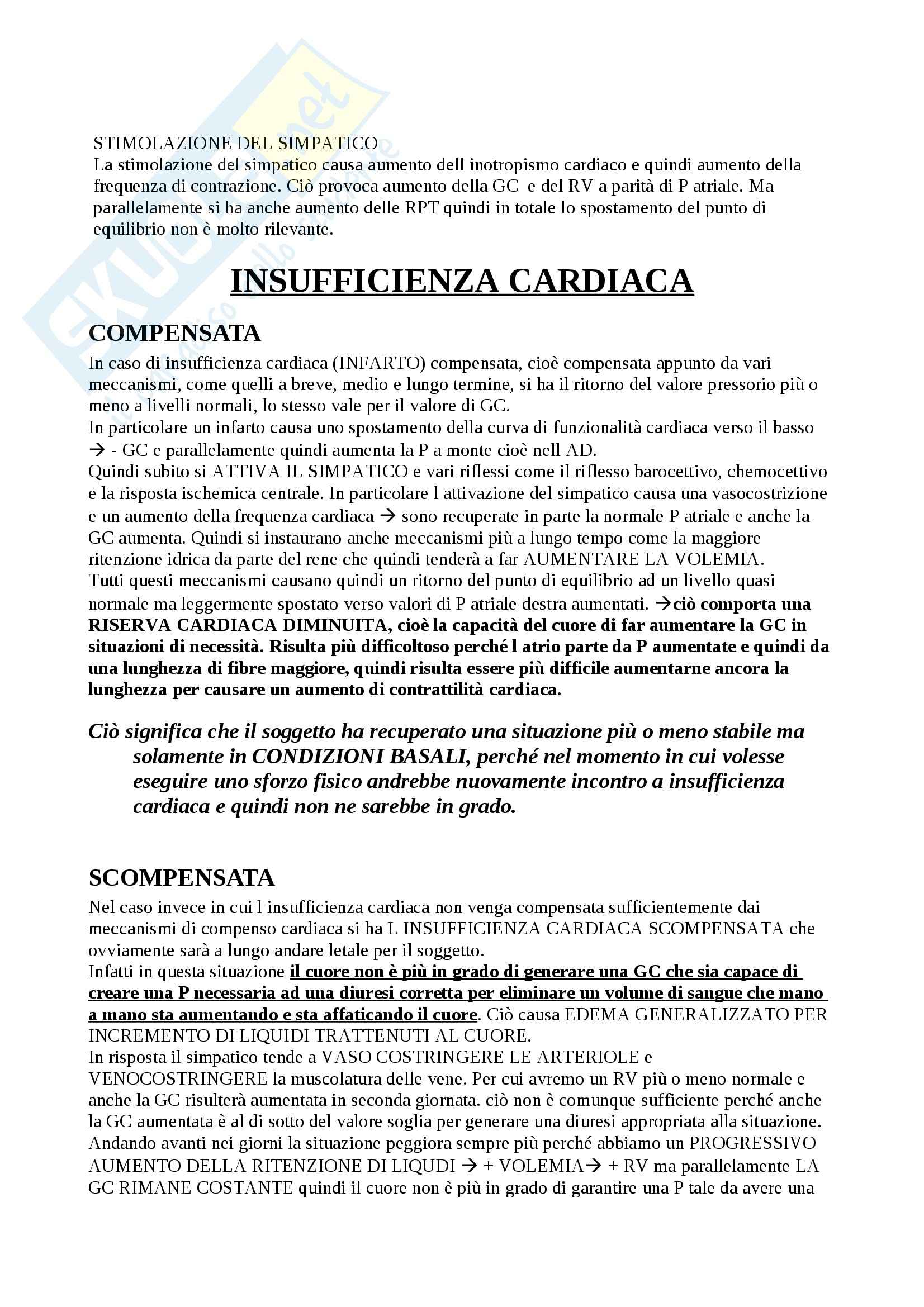 Fisiologia del sistema cardiocircolatorio, Fisiologia Pag. 46