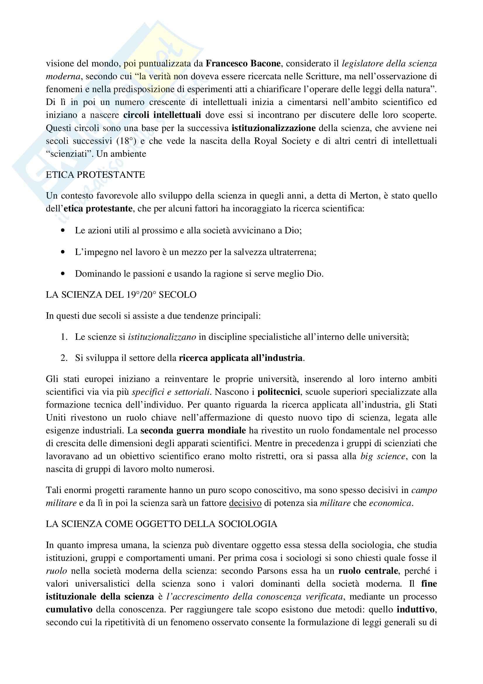 Riassunto esame Sociologia, prof. La Spina, libro consigliato Corso di sociologia, Bagnasco, Barbagli, Cavalli Pag. 16