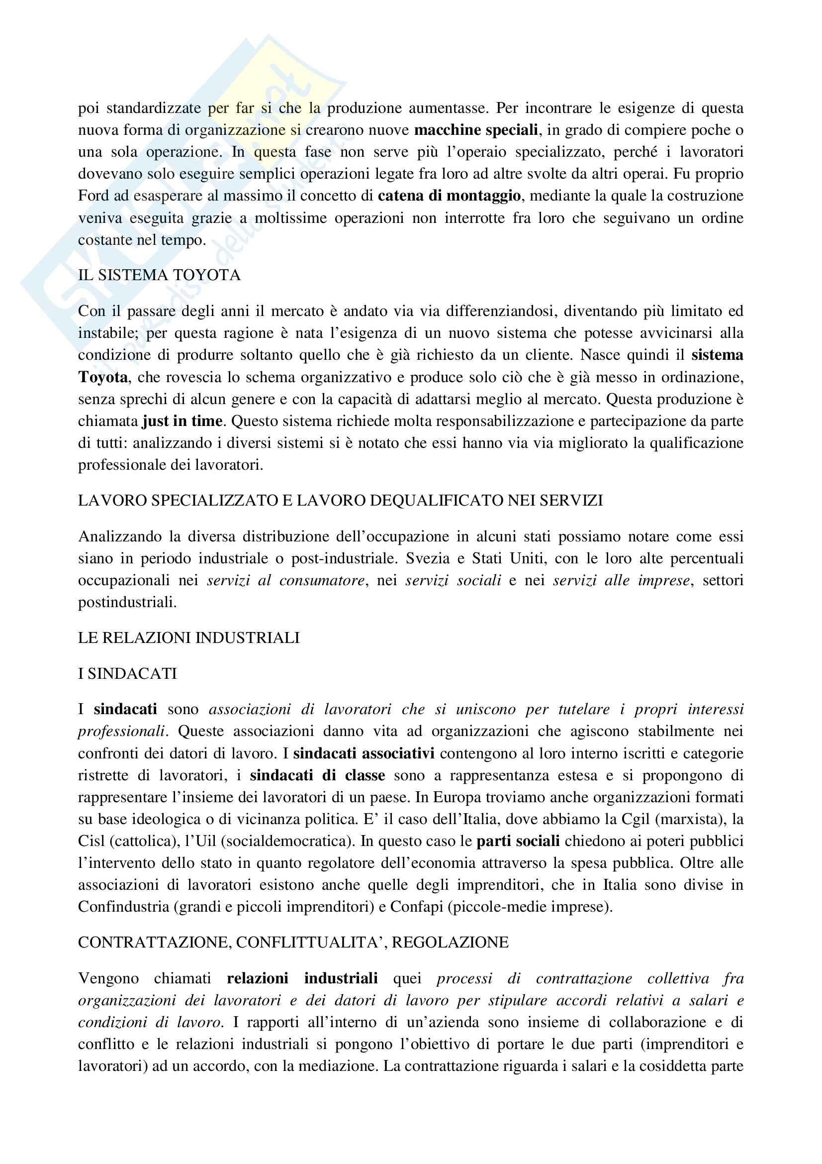 Riassunto esame Sociologia, prof. La Spina, libro consigliato Corso di sociologia, Bagnasco, Barbagli, Cavalli Pag. 31