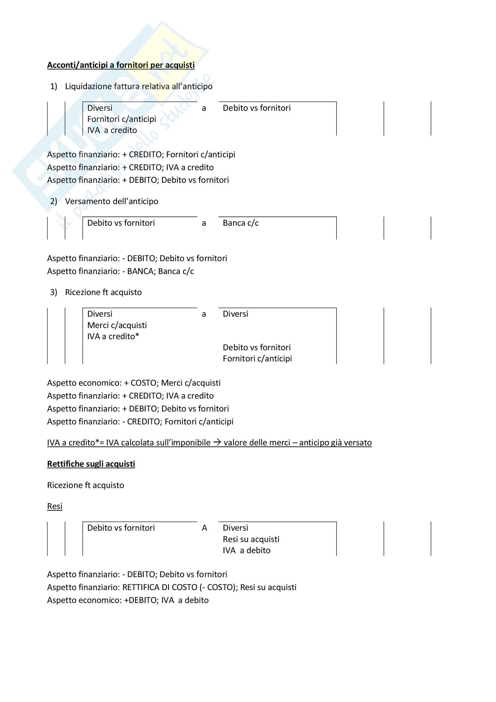 Scritture contabili - Economia aziendale Pag. 2