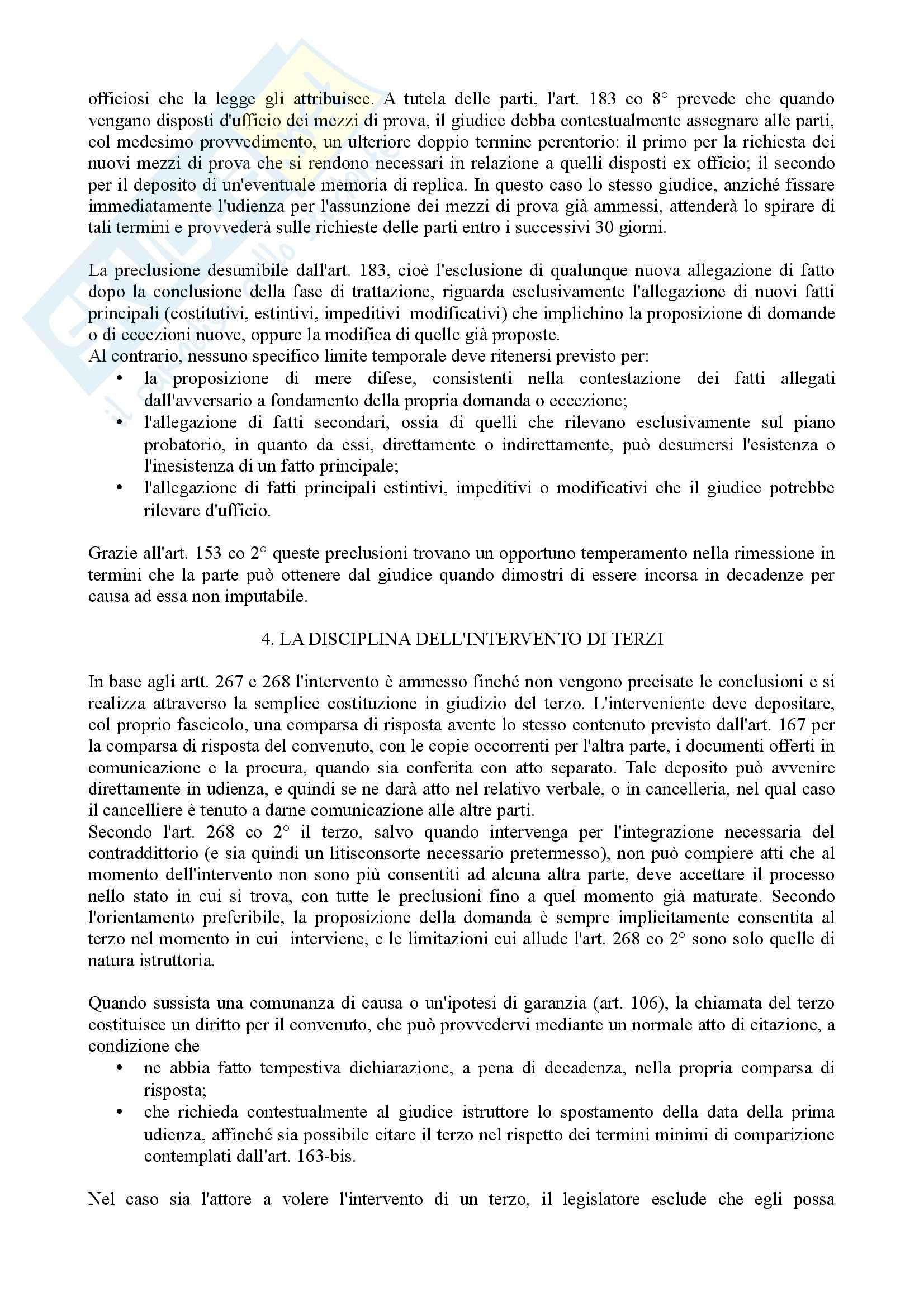 Istituzioni di diritto processuale civile - Balena - Riassunto esame Pag. 11