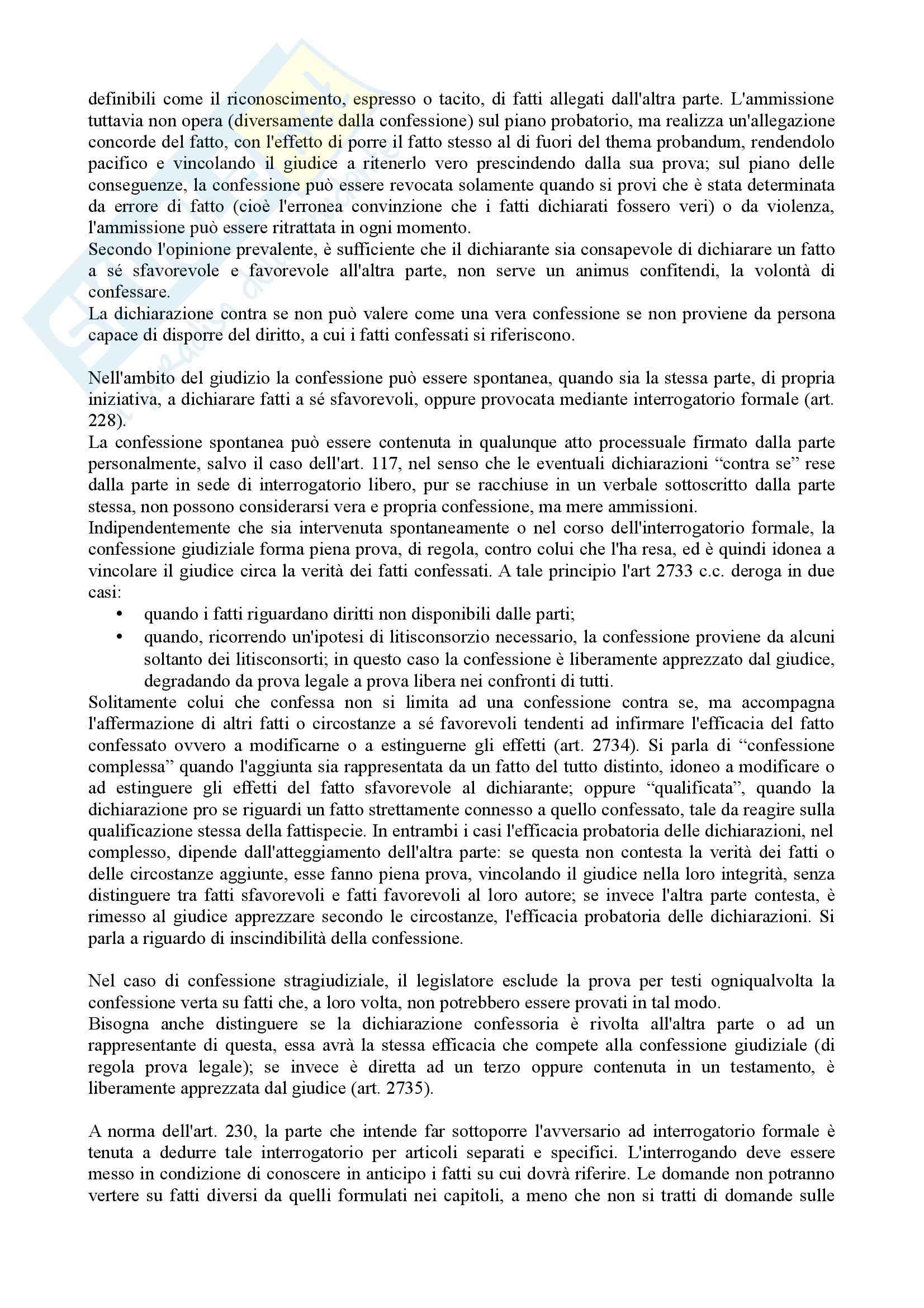 Istituzioni di diritto processuale civile - Balena - Riassunto esame Pag. 21