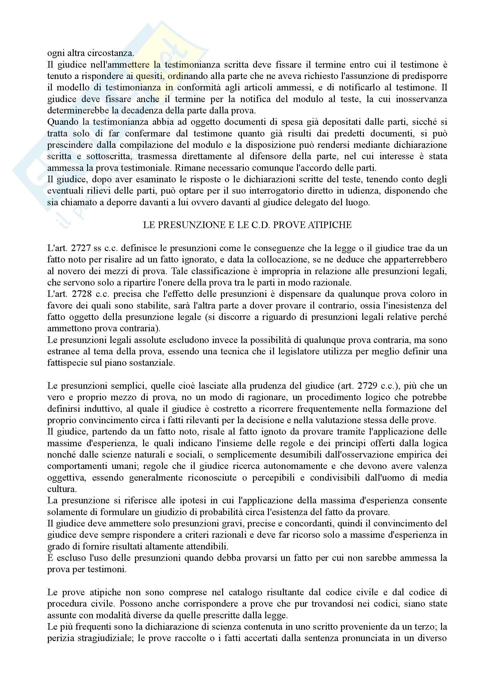 Istituzioni di diritto processuale civile - Balena - Riassunto esame Pag. 31