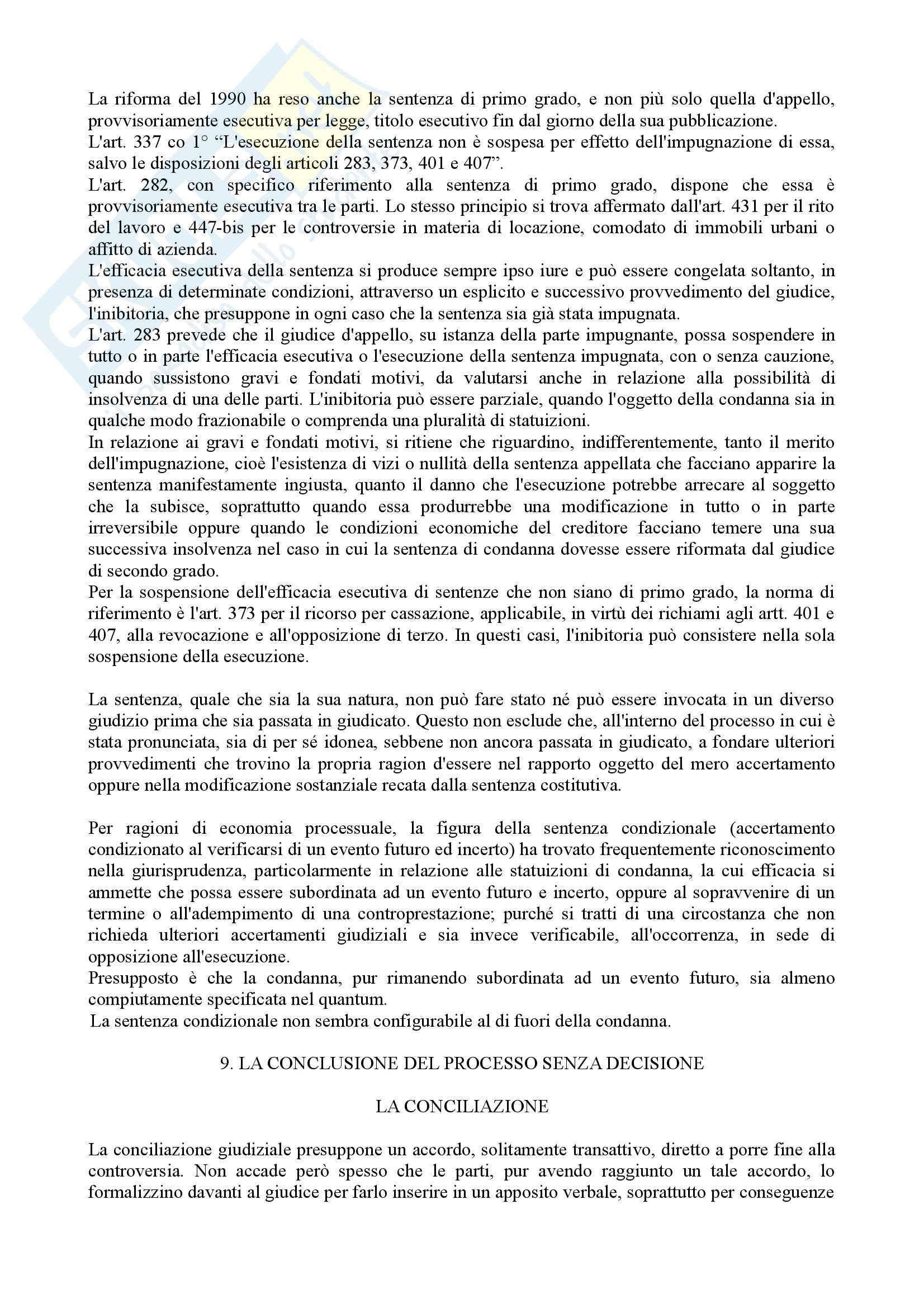 Istituzioni di diritto processuale civile - Balena - Riassunto esame Pag. 36