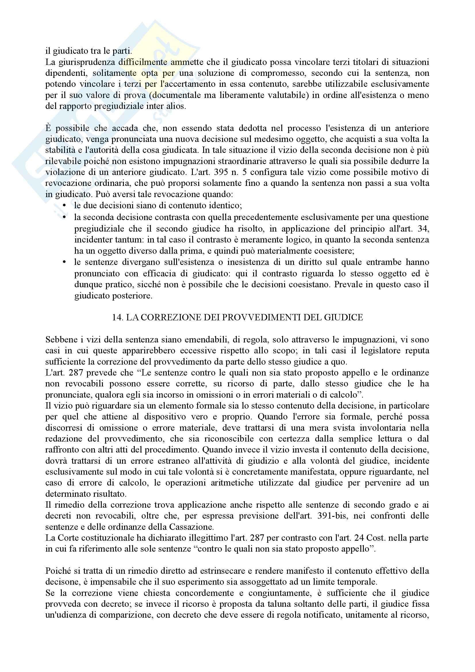 Istituzioni di diritto processuale civile - Balena - Riassunto esame Pag. 51