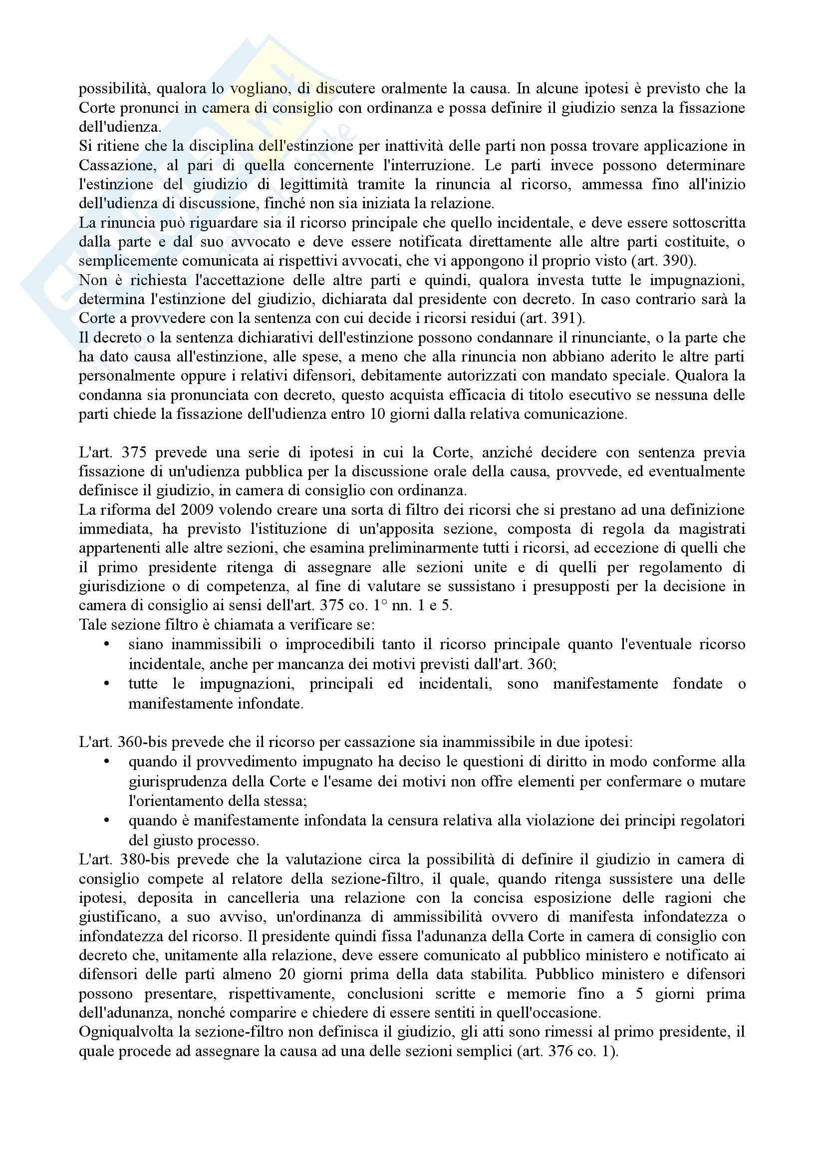 Istituzioni di diritto processuale civile - Balena - Riassunto esame Pag. 71
