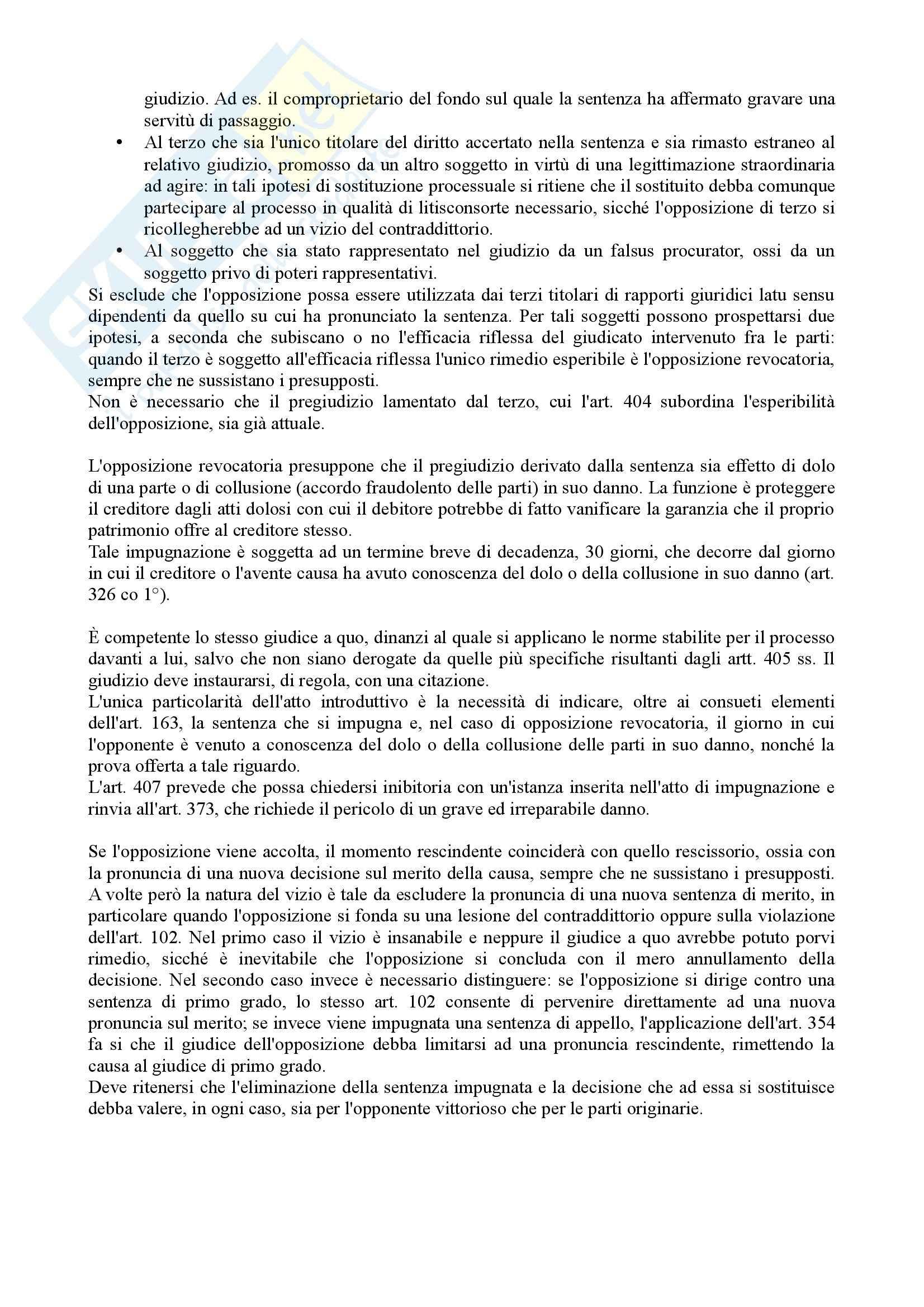 Istituzioni di diritto processuale civile - Balena - Riassunto esame Pag. 81