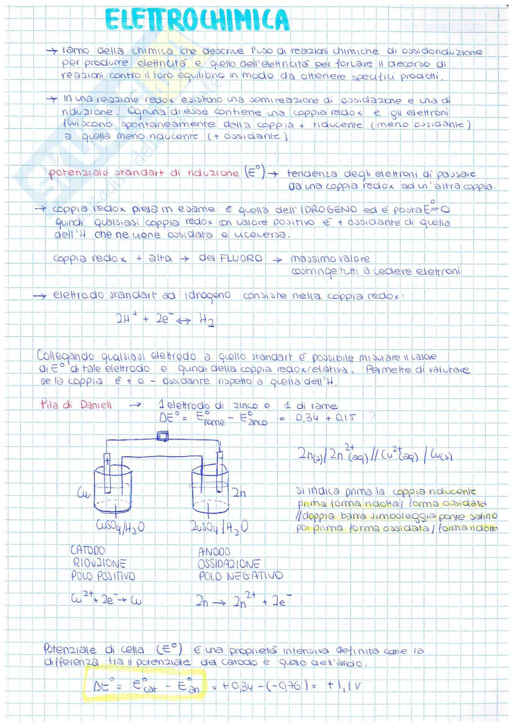 Appunti di Chimica 2 Parte