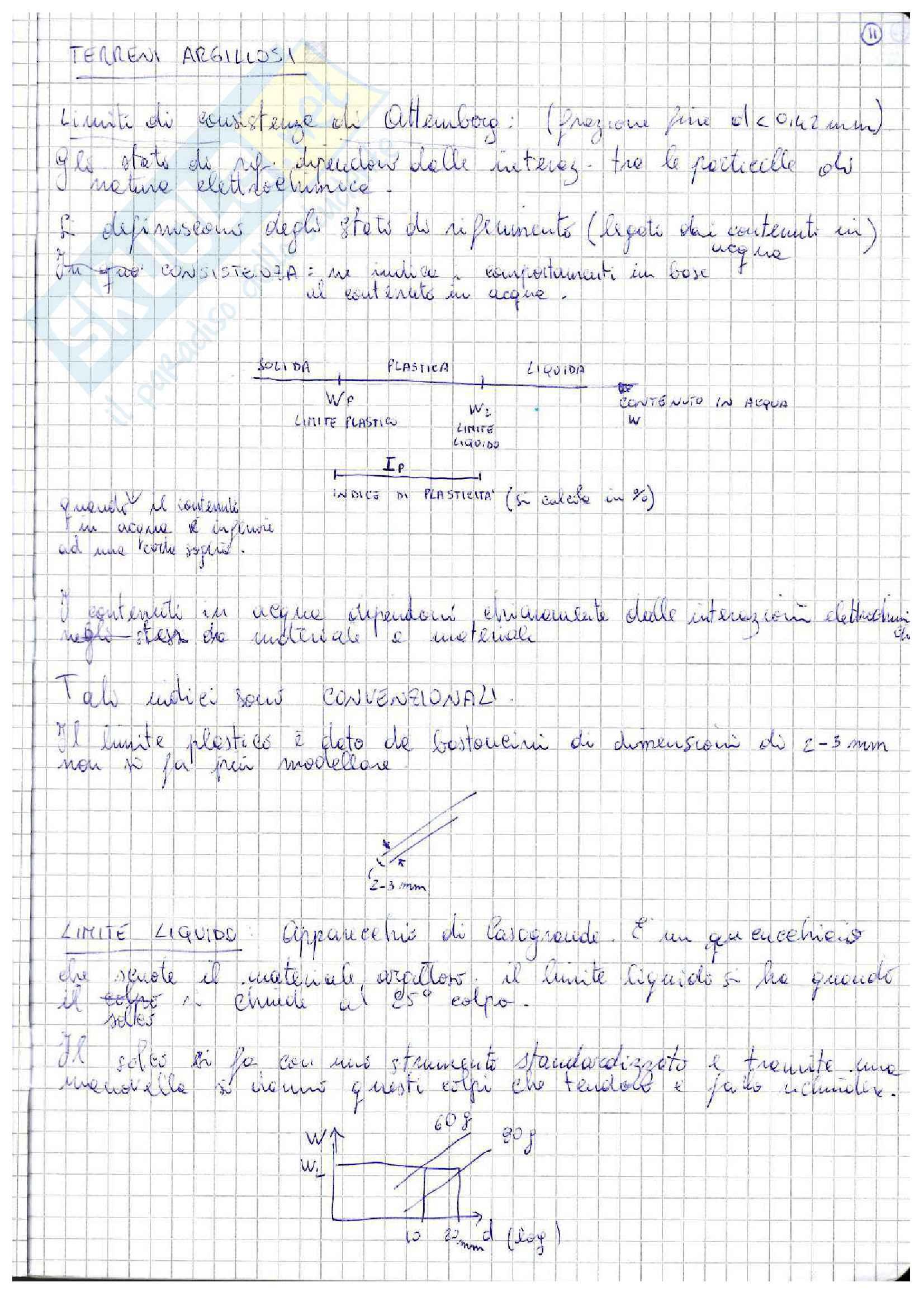 Lezioni: appunti di meccanica delle terre Pag. 11