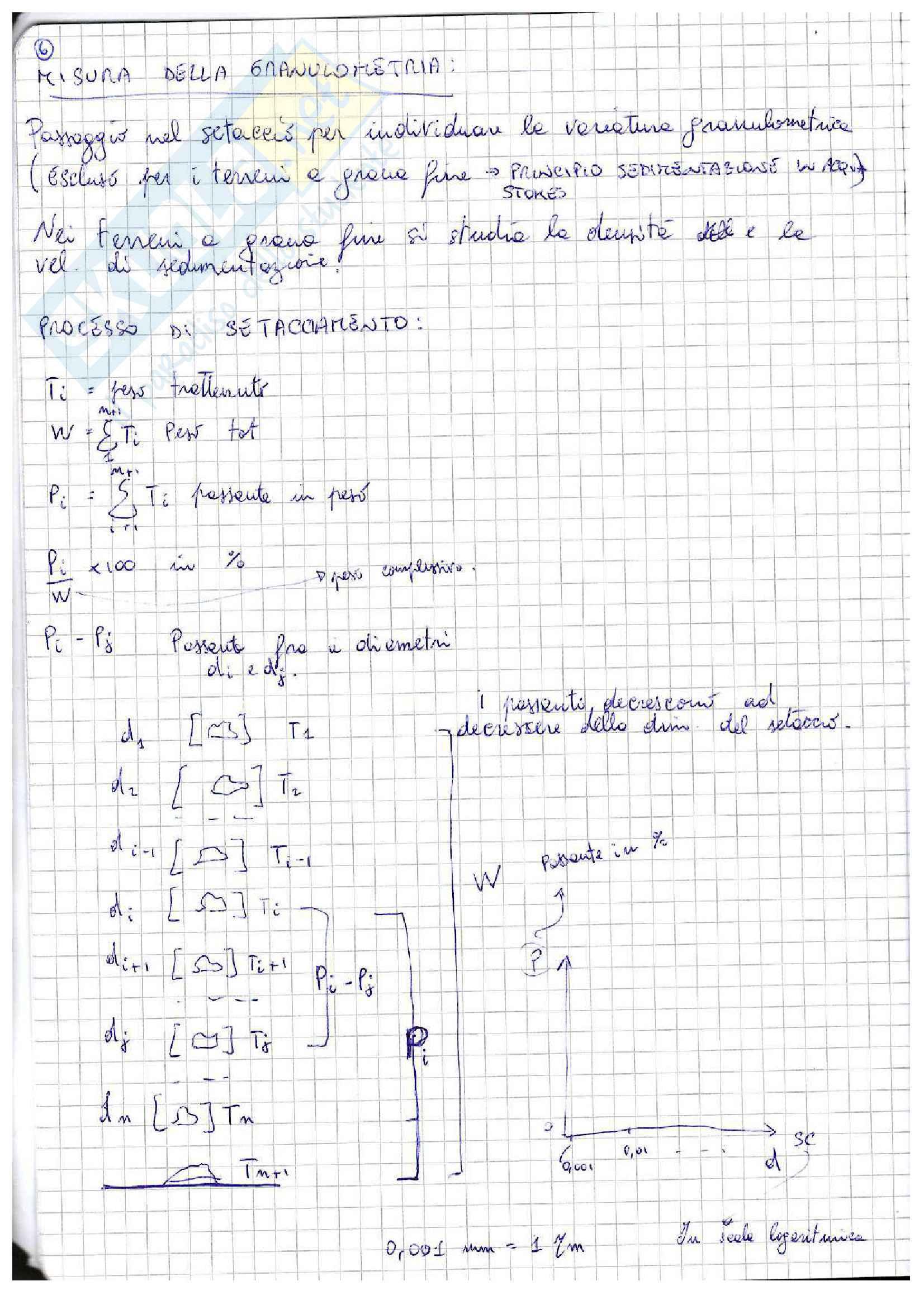 Lezioni: appunti di meccanica delle terre Pag. 6