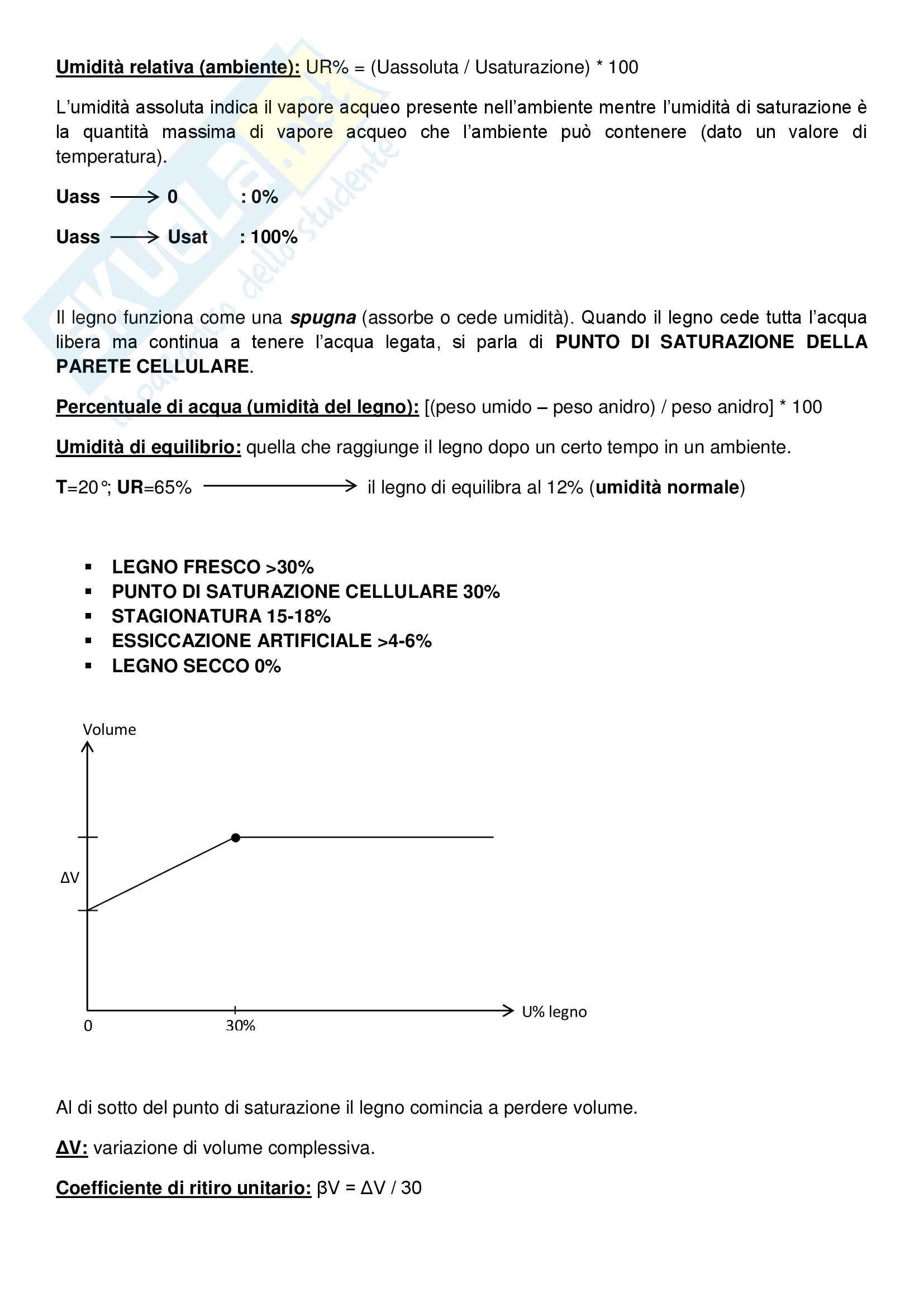 Riassunto esame Tecnologie e Sistemi di Lavorazione del Legno, prof. Fioravanti Pag. 6
