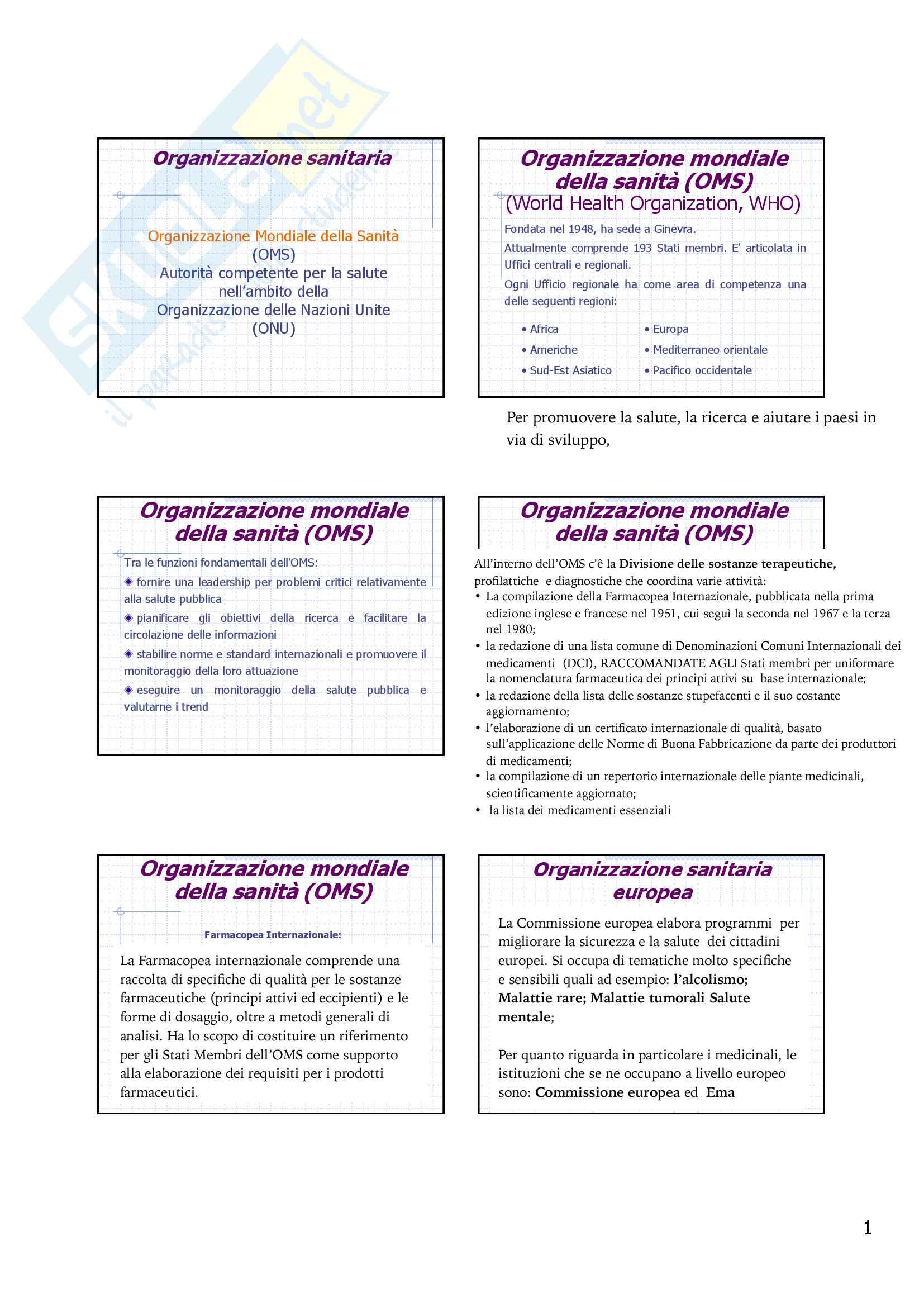 Legislazione farmaceutica Pag. 6