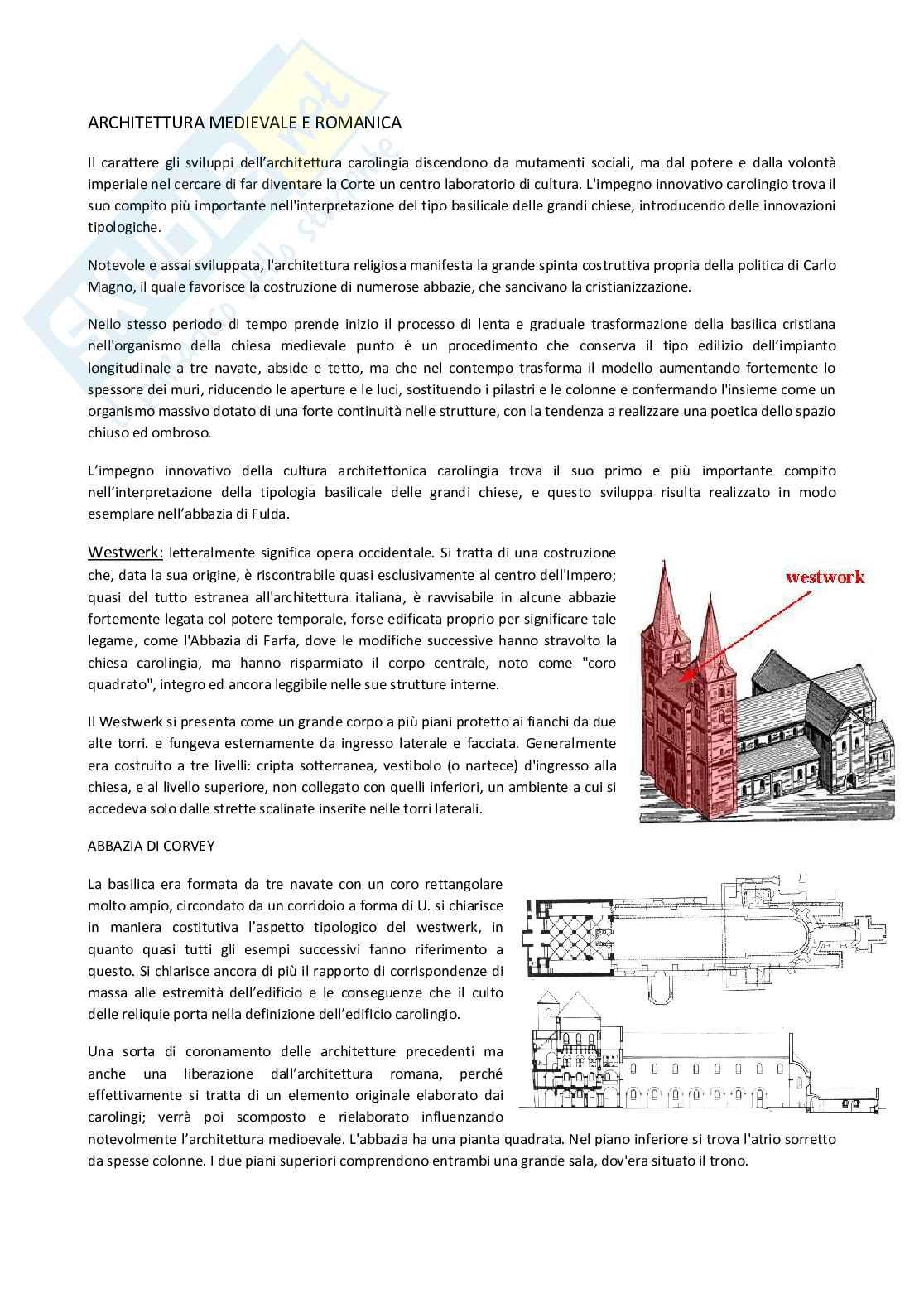 Architettura medievale e romanica