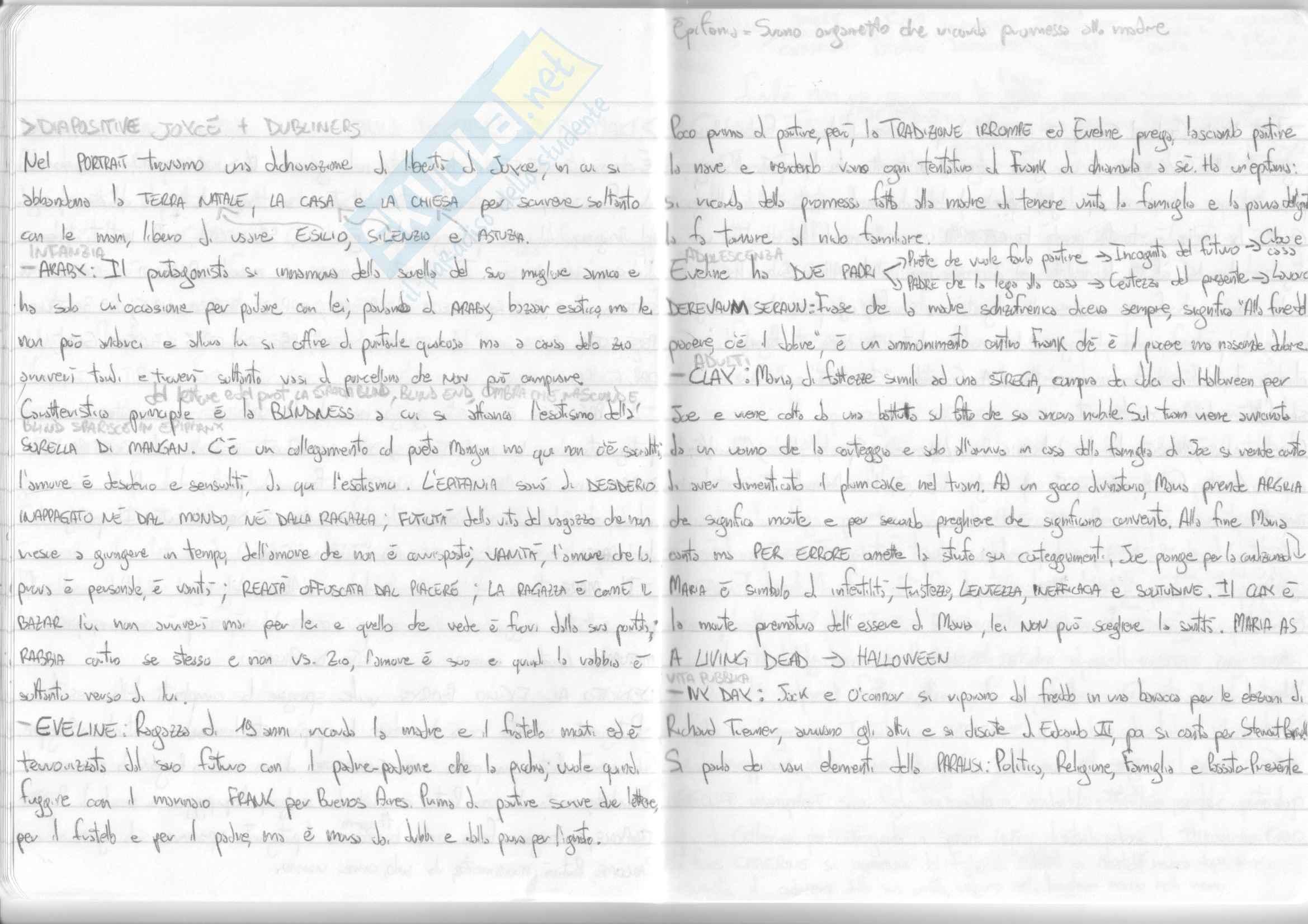 Riassunto esame Letteratura Inglese I, prof. Guarducci, libro consigliato Storia della letteratura inglese, vol. 2,, Bertinetti Pag. 21