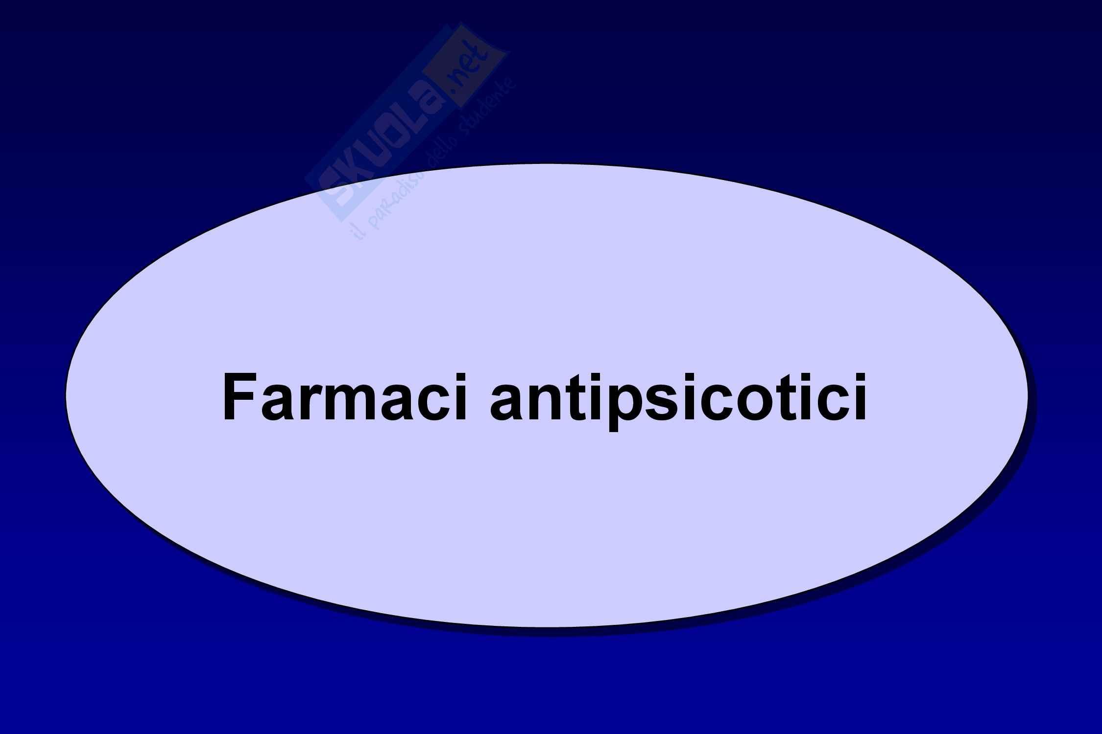 Farmacologia antipsicotici