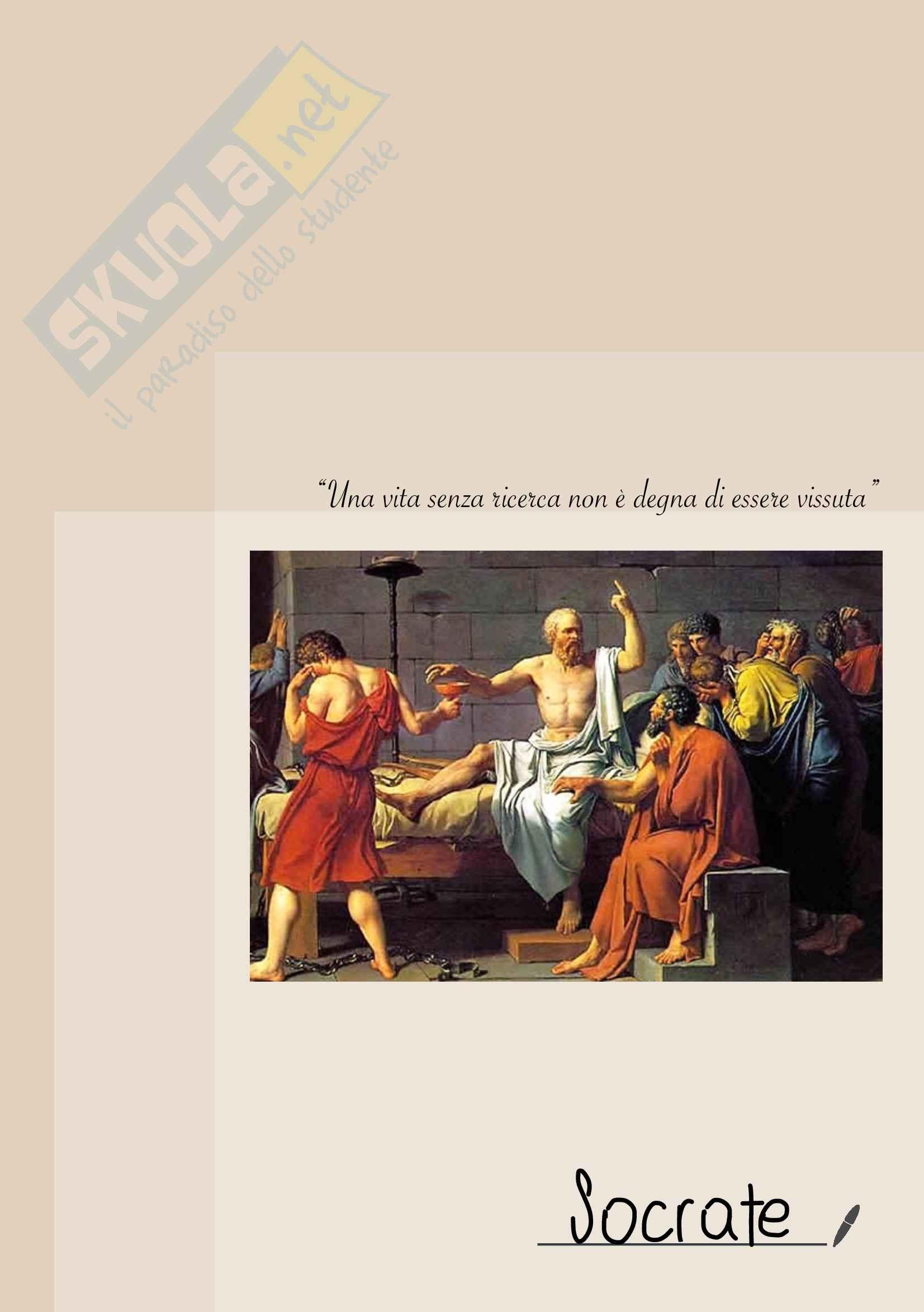 Riassunto Socrate