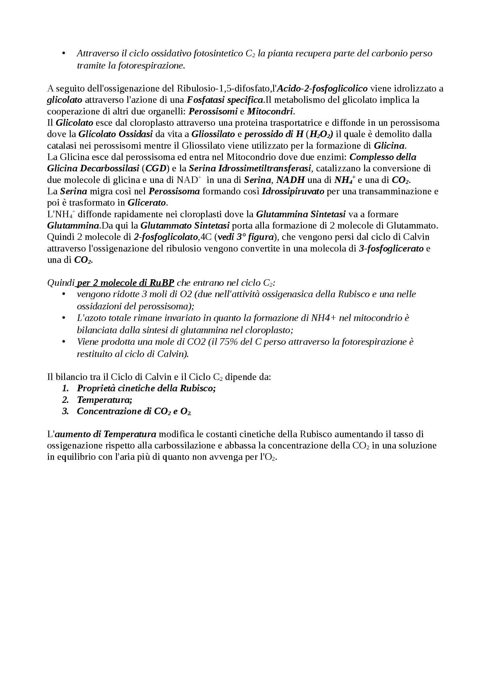 Riassunto esame Fisiologia Vegetale, prof. Angelini, libro consigliato Fisiologia Vegetale di Zeiger Pag. 41