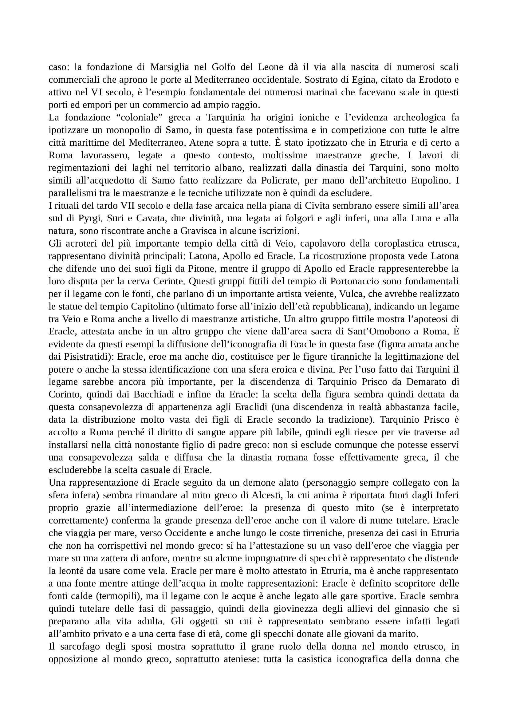 Etruscologia e antichità italiche - Appunti Pag. 36