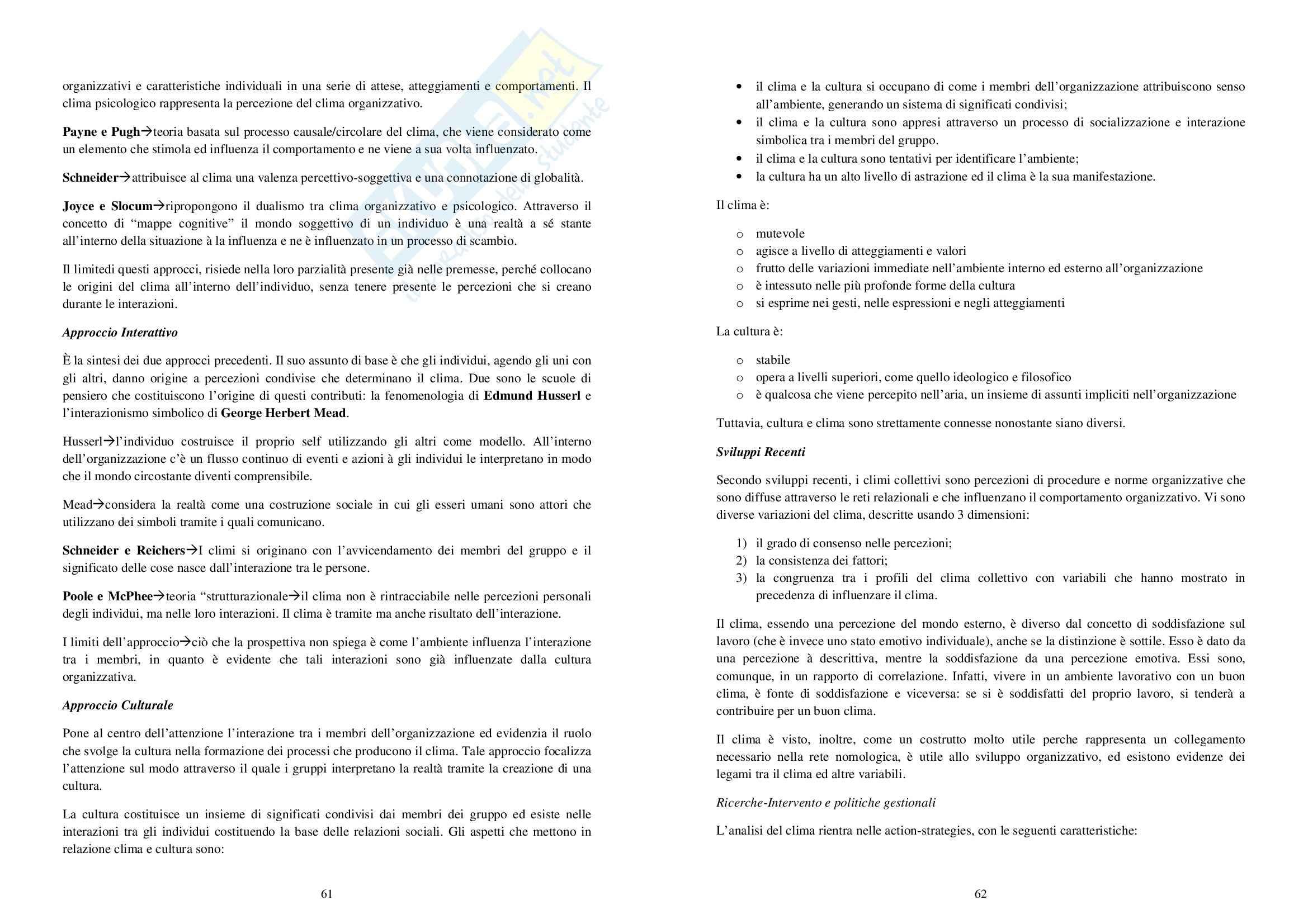 Riassunto esame Psicologia del Lavoro, prof. Manuti, libro consigliato Psicologia delle Organizzazioni, Argentero, Cortese, Piccardo Pag. 31