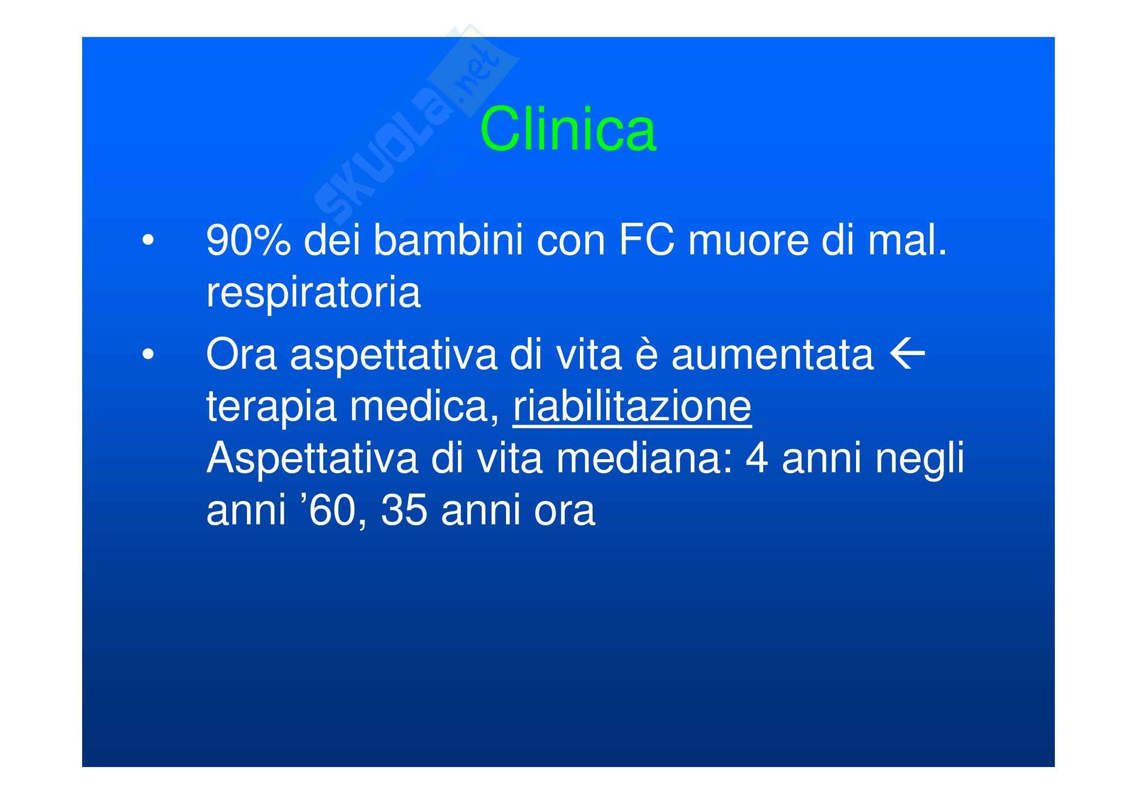 Fibrosi cistica Pag. 11