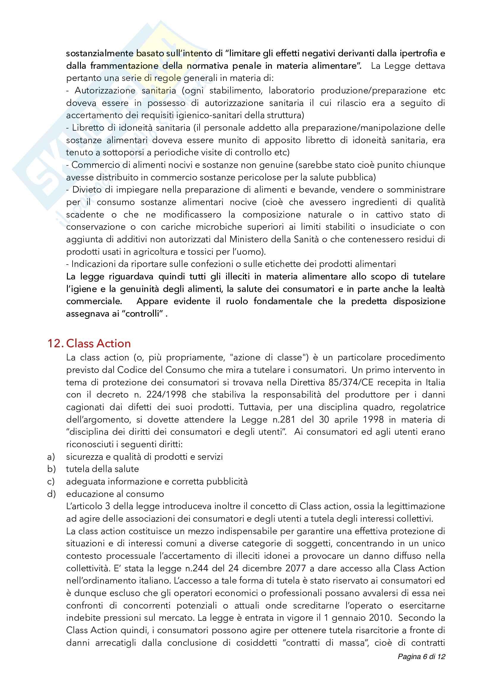 Domande (e risposte) che vengono fatte all'esame di legislazione alimentare Pag. 6