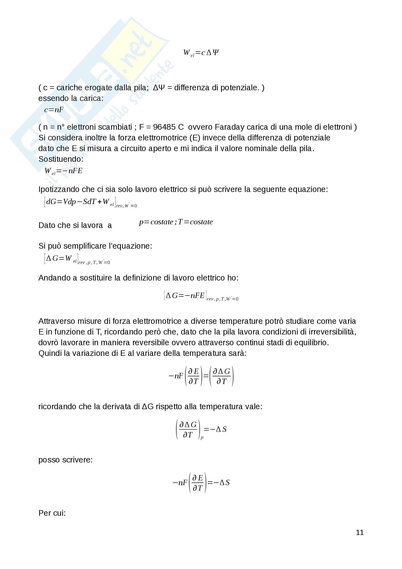 Relazioni laboratorio Chimica fisica 1 Pag. 11